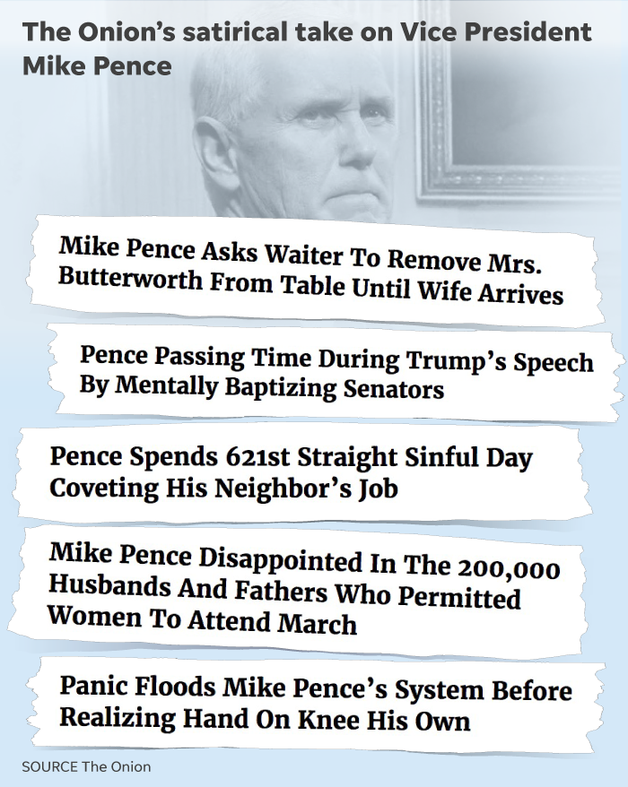 Mike Pence Whitest Person In Politics Gets A Lot Of Ribbing