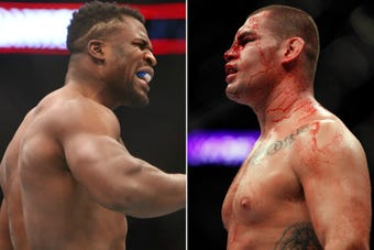 What I'm Hearing: USA TODAY Sports' John Morgan spoke with Cain Velasquez and Francis Ngannou as they brace for their Sunday night fight.