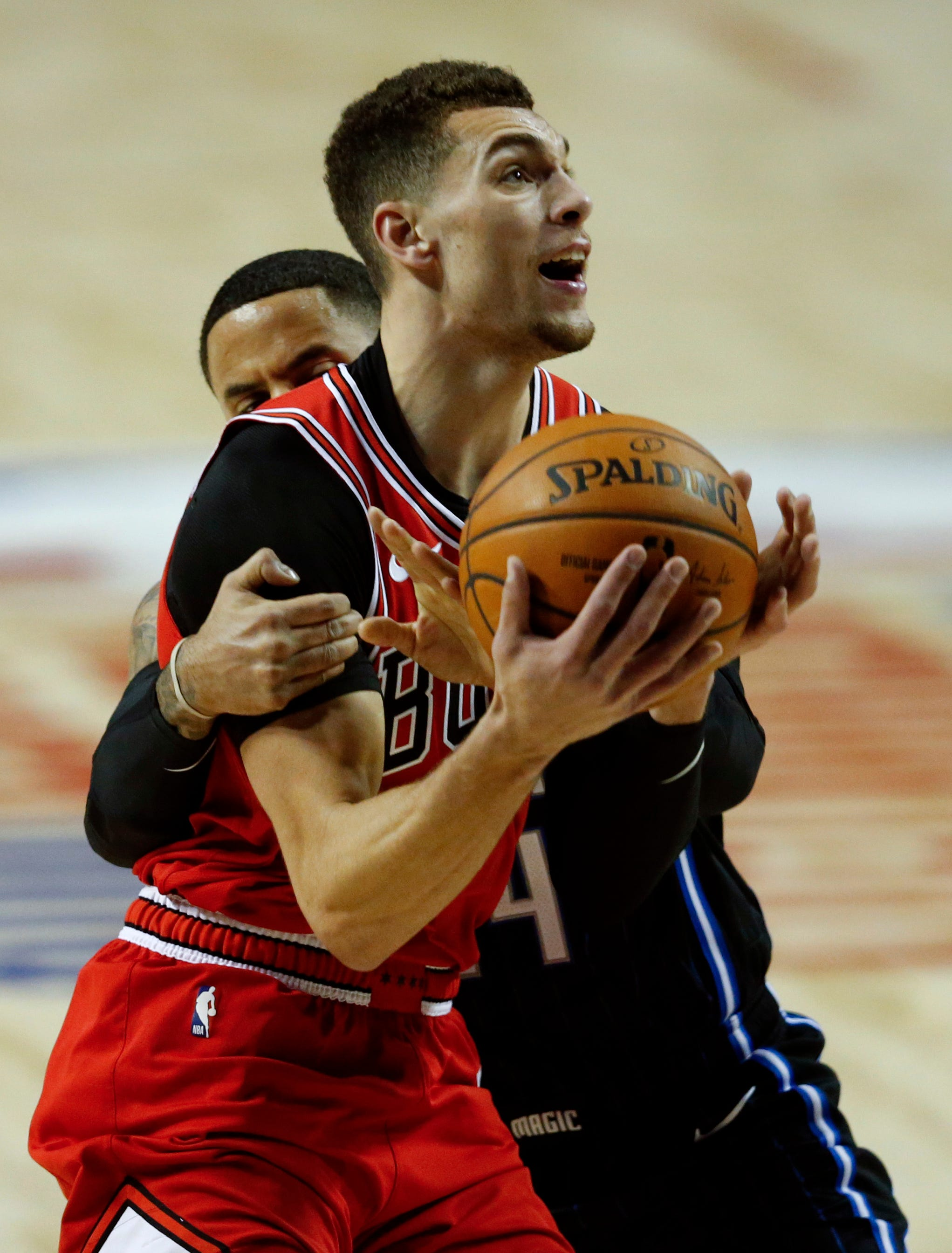 Vucevic leads Magic over Bulls 97-91 in Mexico City