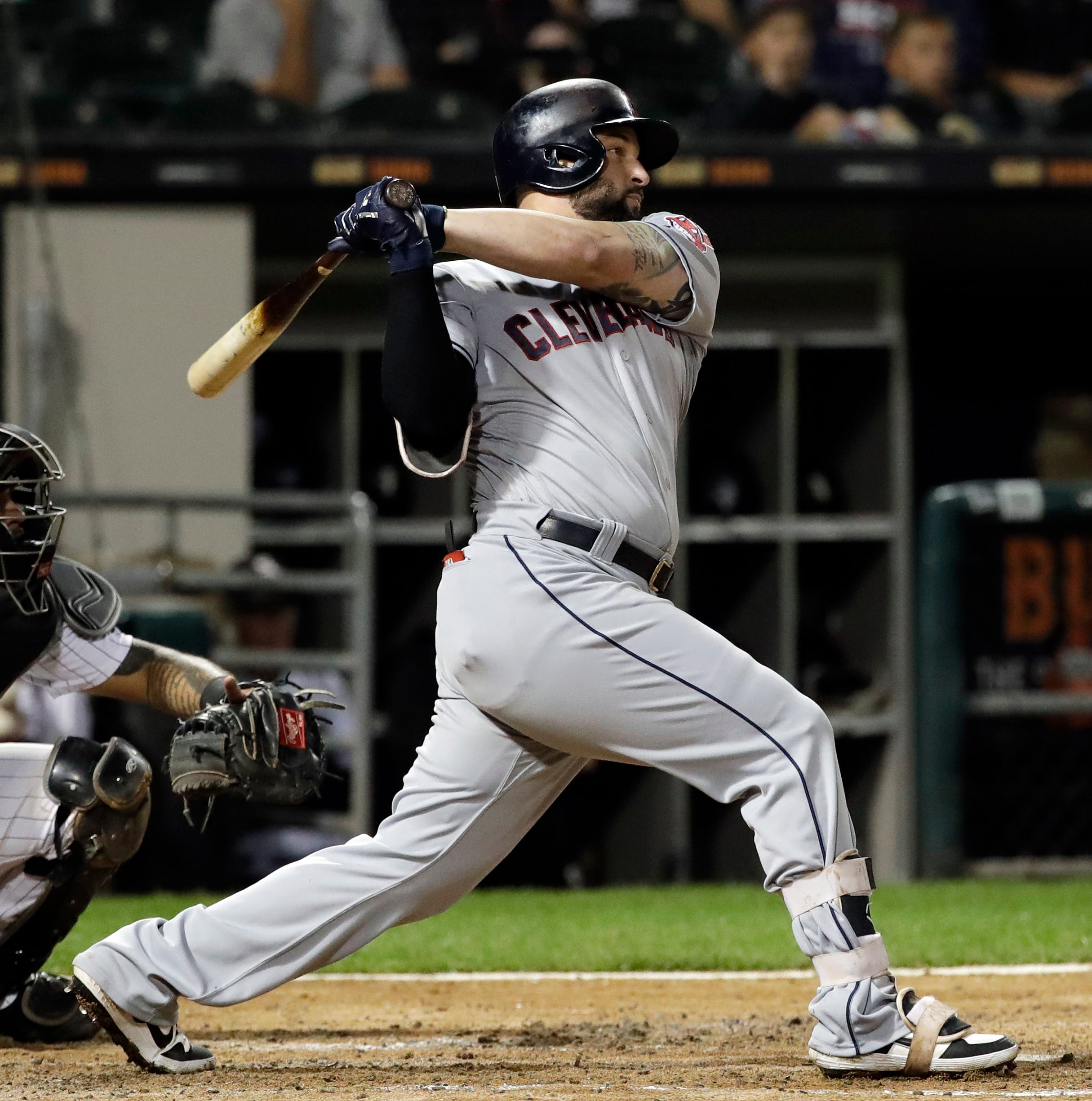 AP source: White Sox acquire 1B Alonso in trade with Indians