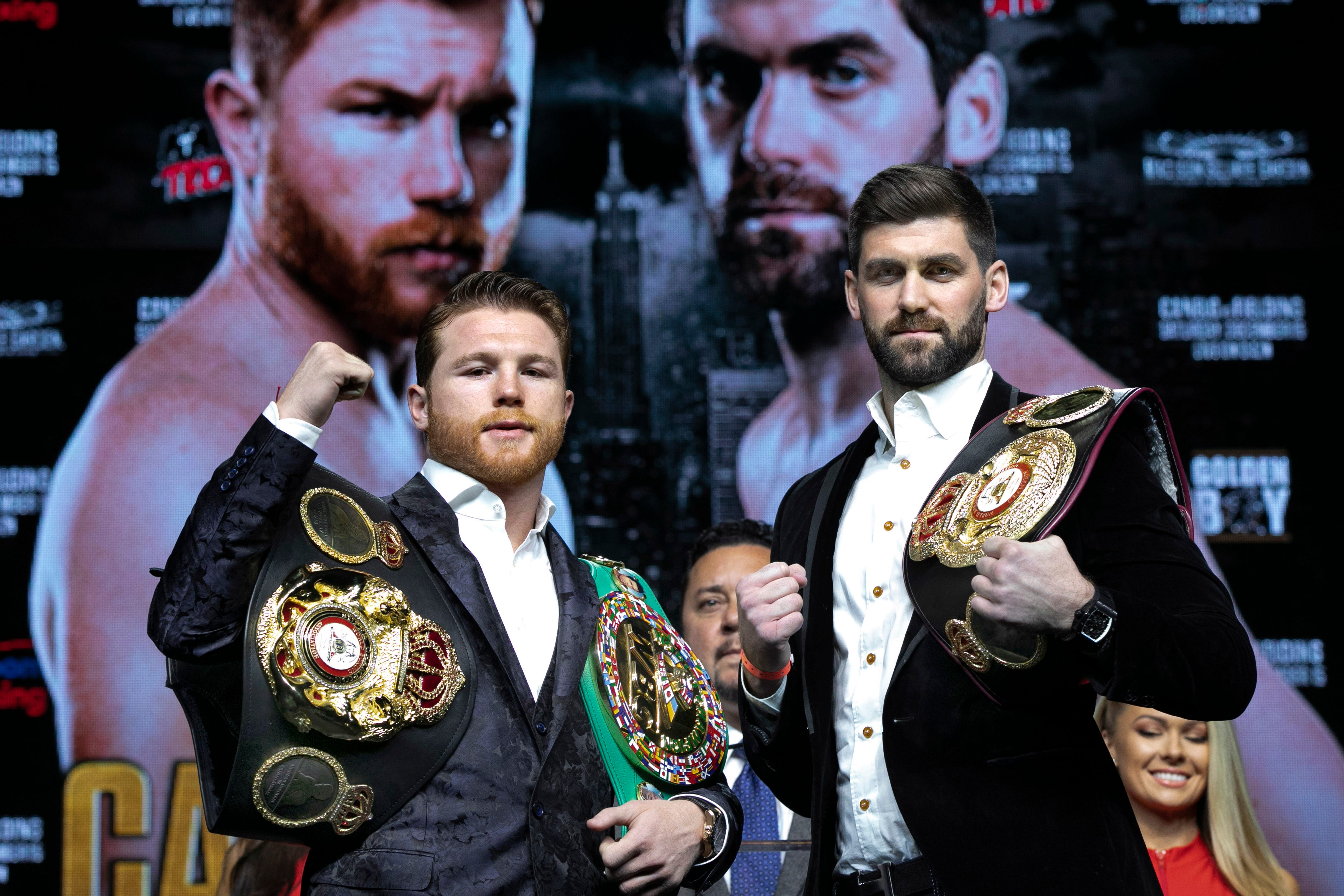 Canelo cannot afford slip in Garden bout against Fielding