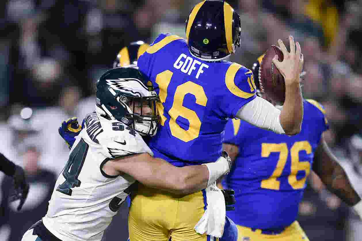 7a4d6daf8 Shorthanded Philadelphia Eagles stun Rams in Los Angeles to boost playoff  hopes