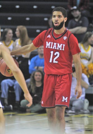 Miami University's Darrian Ringo had 15 points, six assists and five steals in a win over Ball State.
