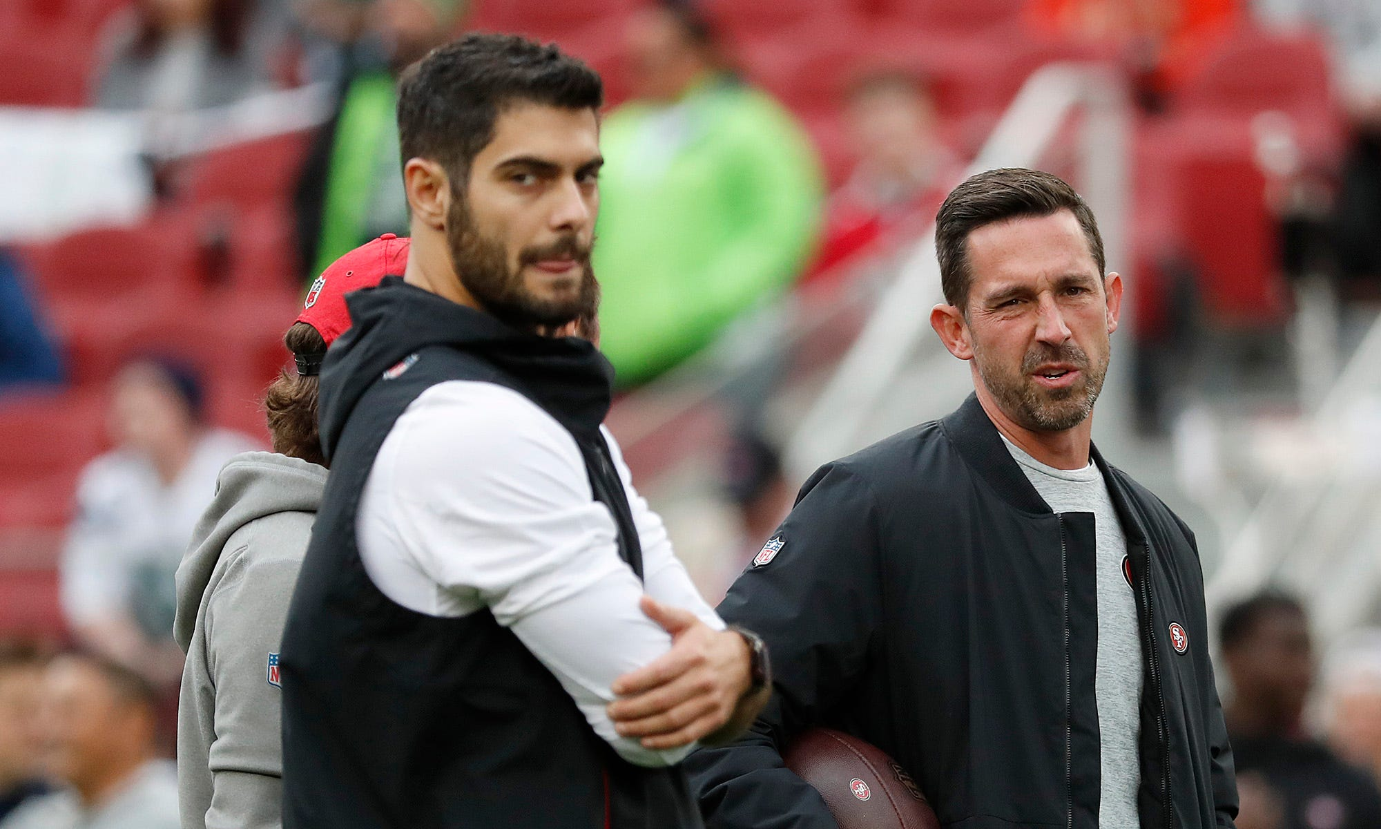 Is Nick Mullens' success proof the San Francisco 49ers overpaid Jimmy Garoppolo?