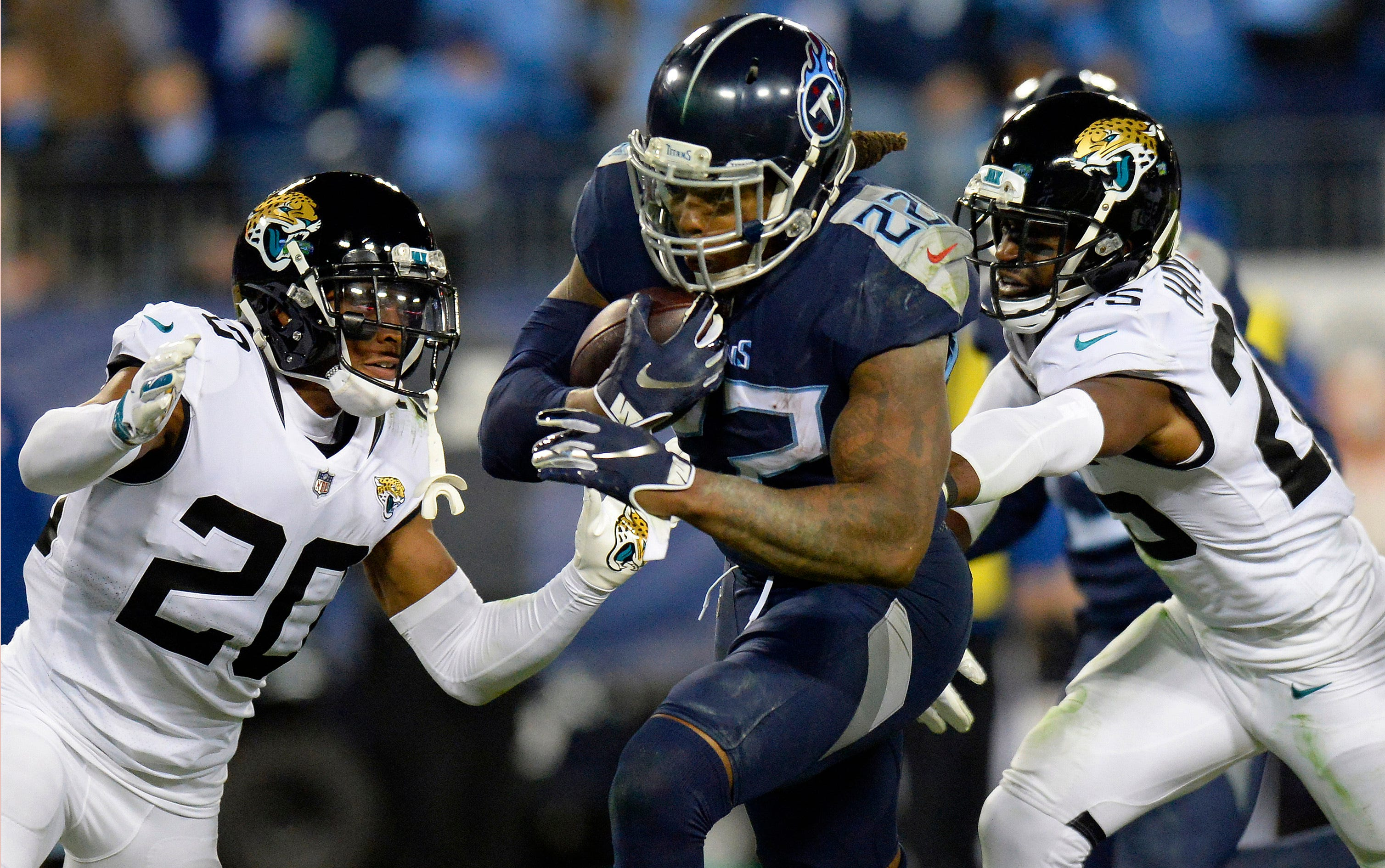Derrick Henry focused on helping Titans win, not 1,000 yards