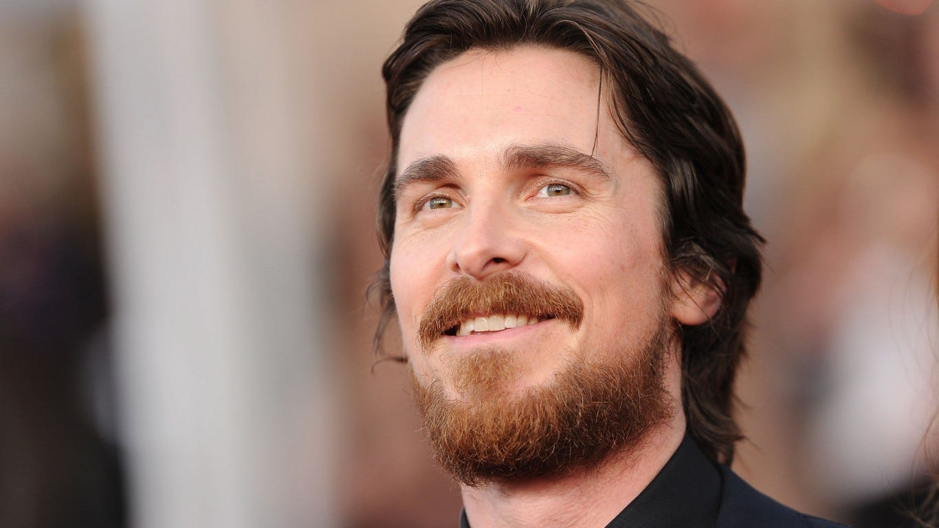 Christian Bale says he felt like a 'bullfrog' in 'Vice' role as Dick Cheney