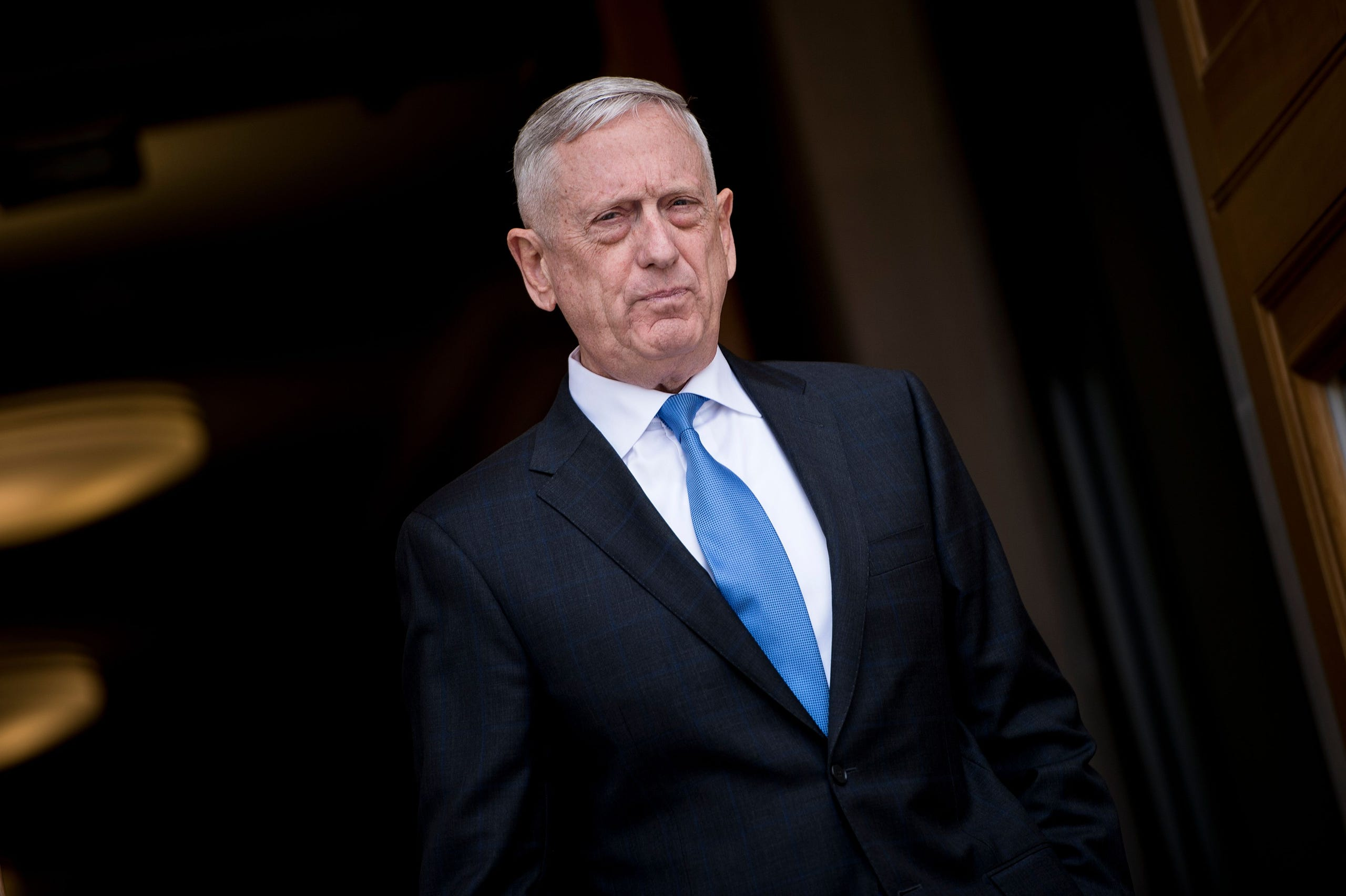 James Mattis resigned as Secretary of Defense on Dec. 20, 2018 in response to President Trump's decision to withdraw troops from Syria.