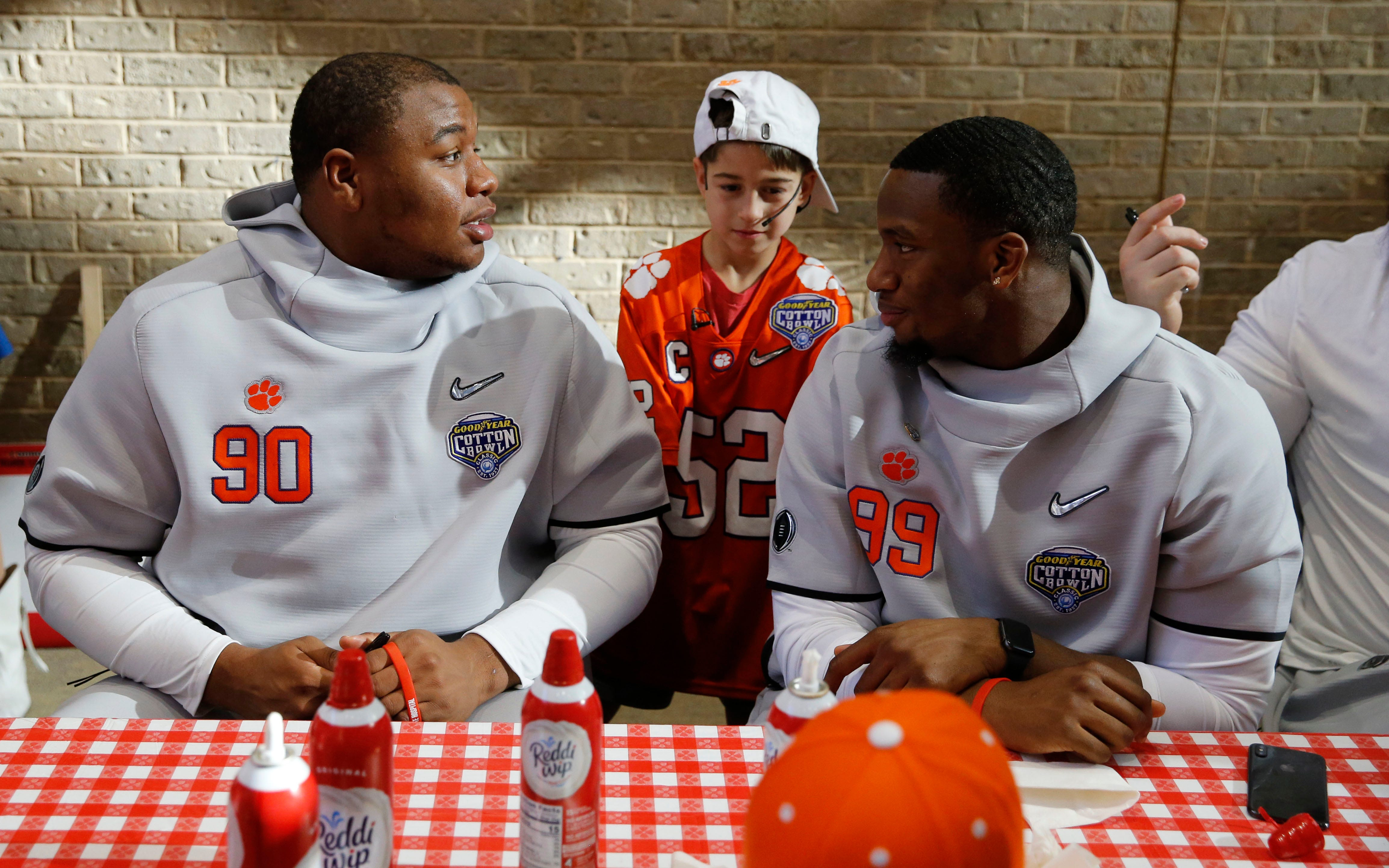 The Latest: NCAA confirms suspension for Clemson DT Lawrence