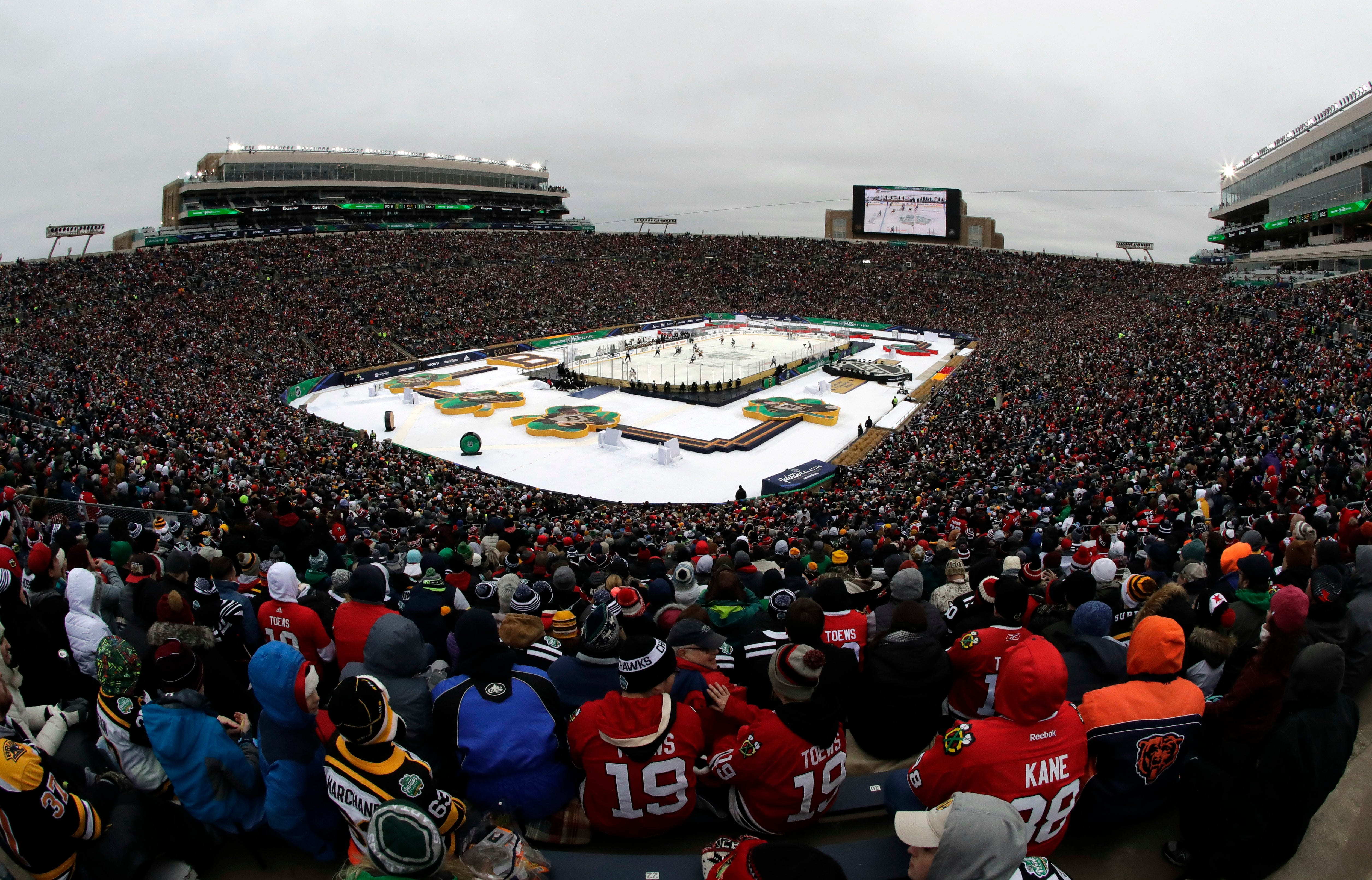 2020 Winter Classic to be held in Dallas at Cotton Bowl