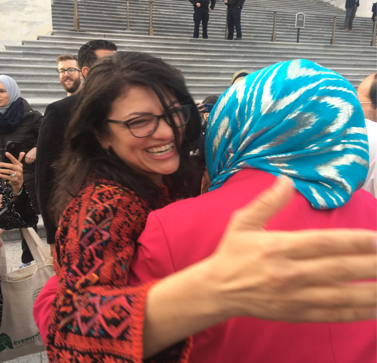 Impeach Trump? Rashida Tlaib, Michigan Democrat, throws expletive