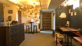 An inside look at Two Ton Brewing's library 'speakeasy.'