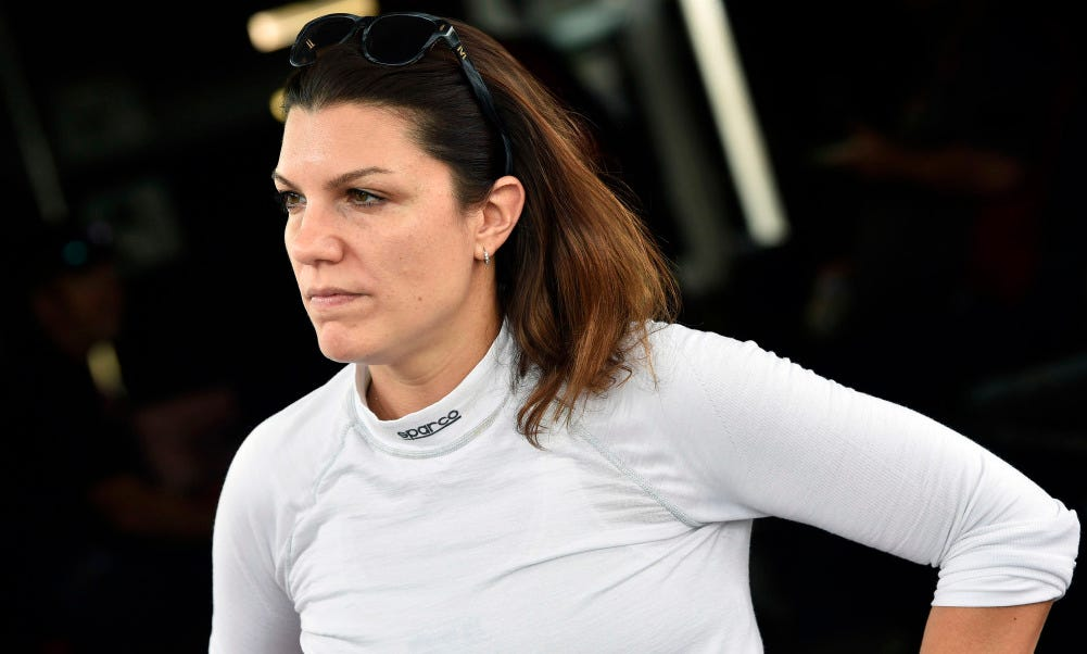 Katherine Legge aims for Rolex 24's top step all-female Meyer Shank Racing team
