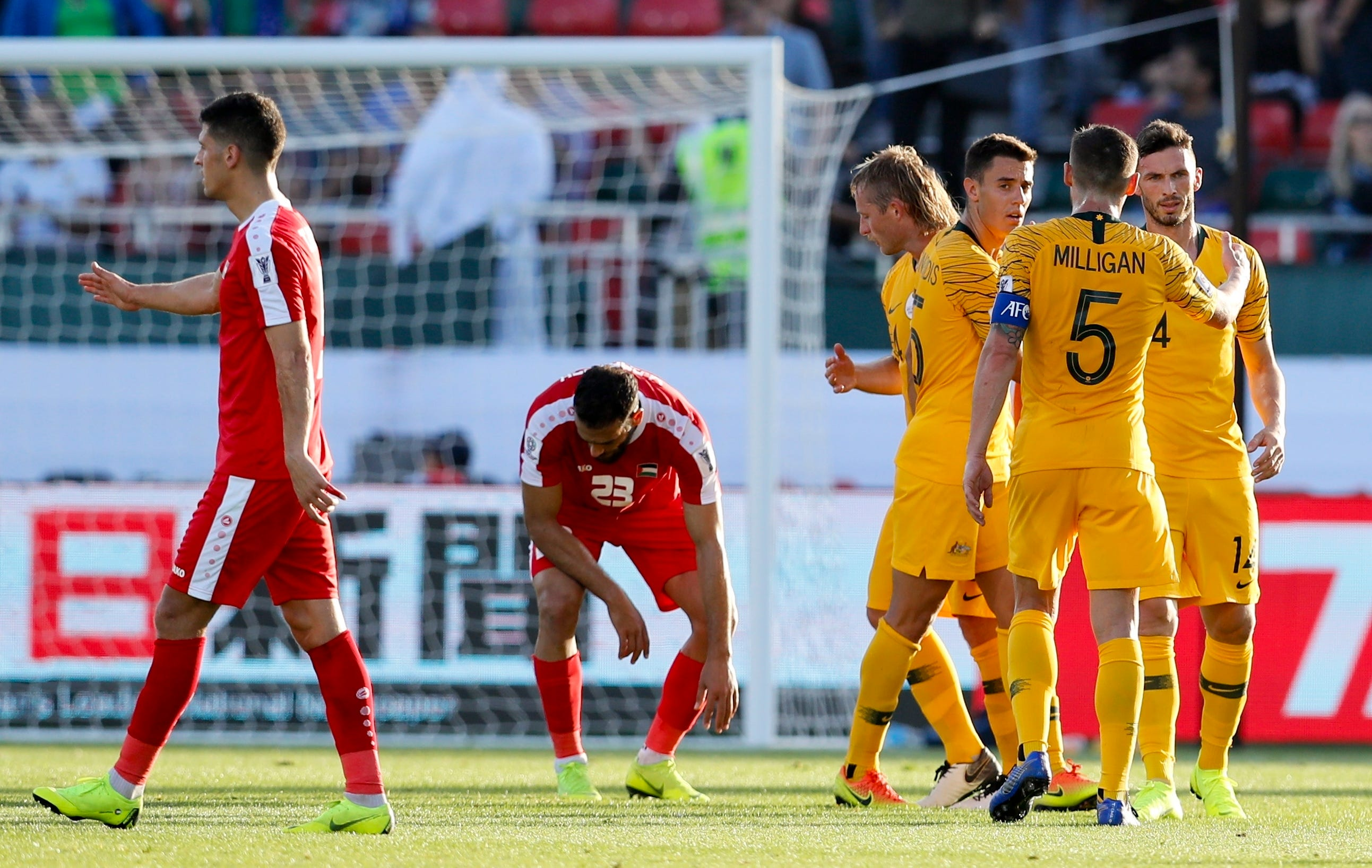 Australia beats Palestine 3-0 for its first win in Asian Cup