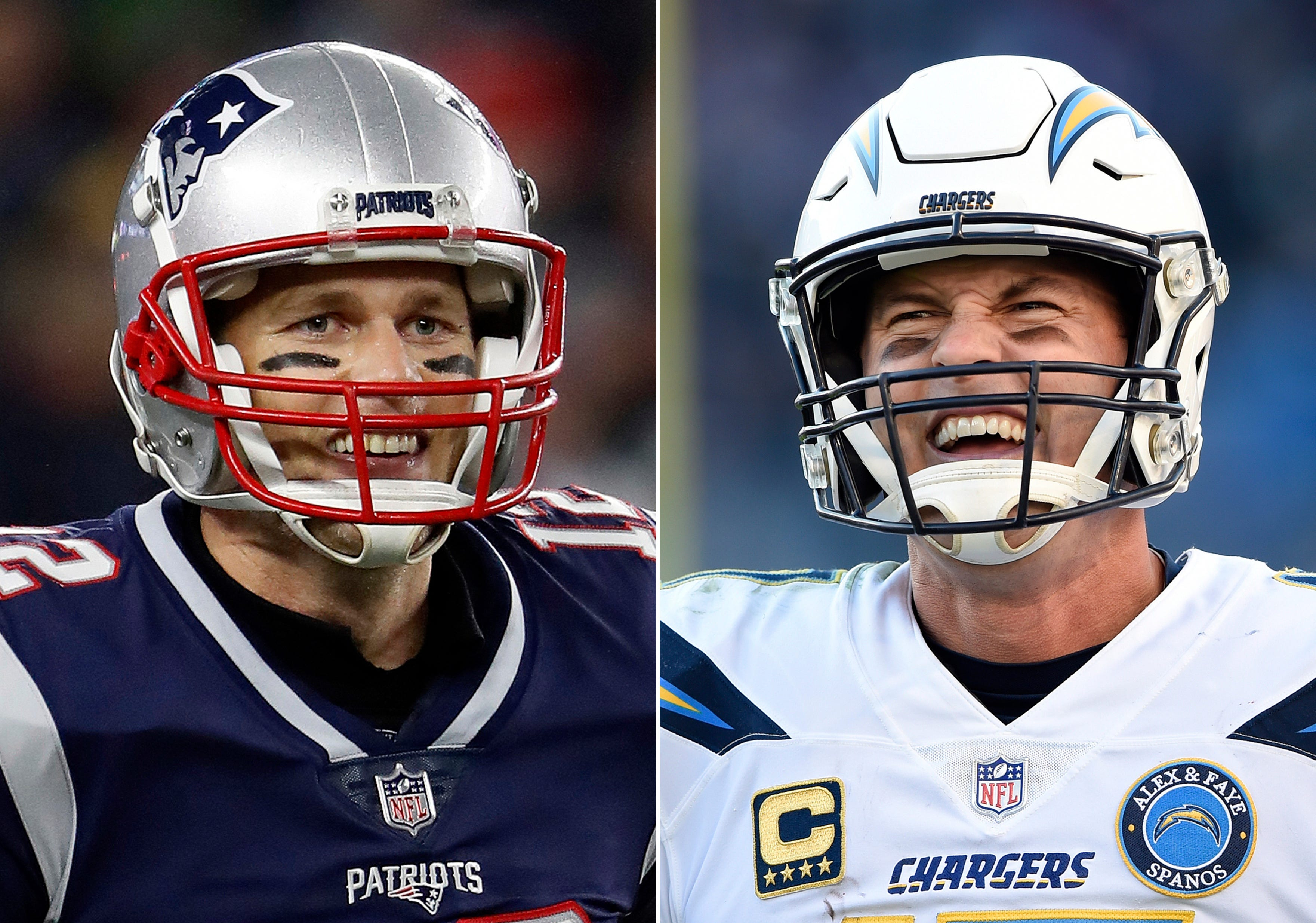 Rivers, Chargers look to end dominance by Brady, Patriots