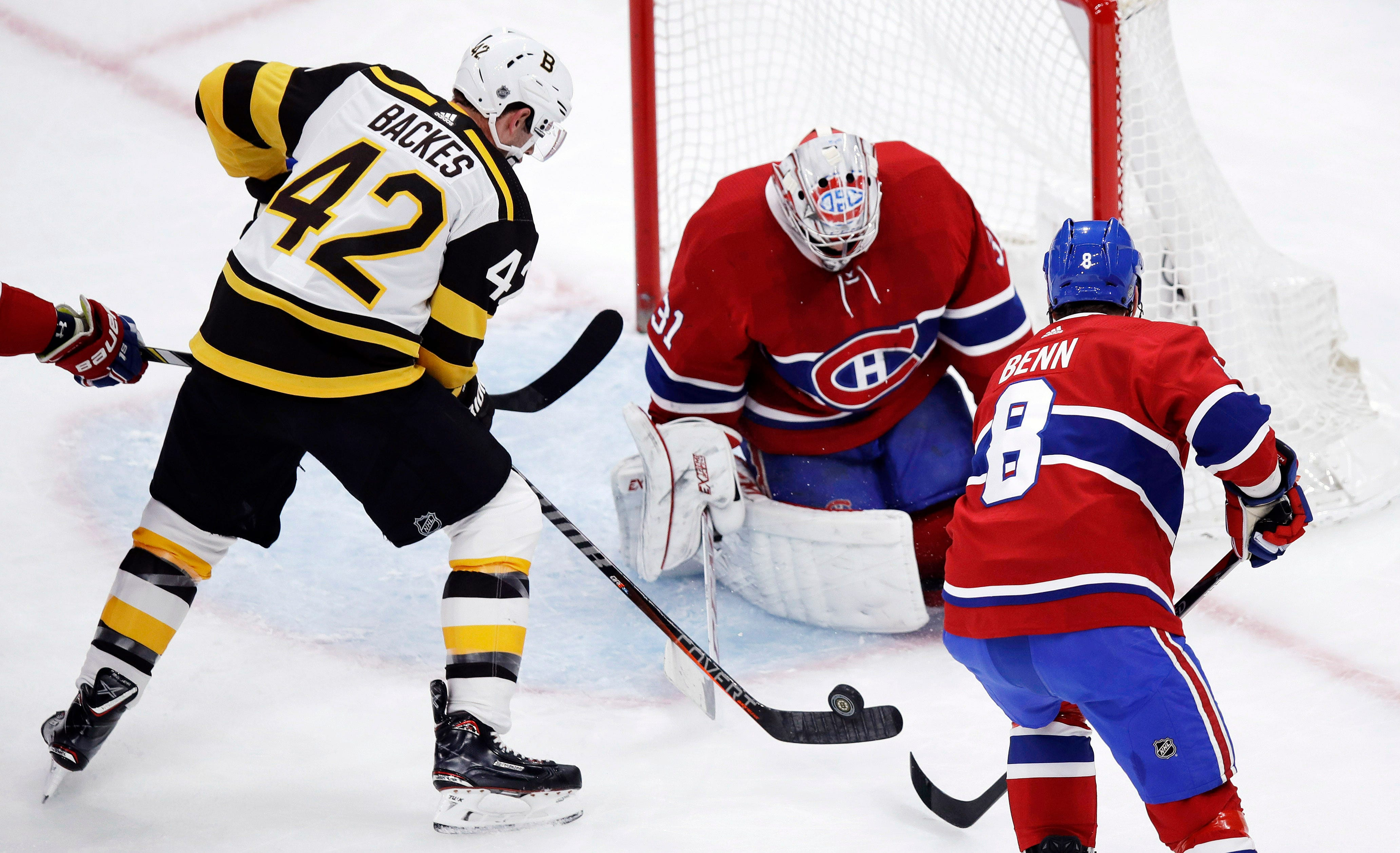 Petry swats in OT winner to lead Montreal past Boston 3-2