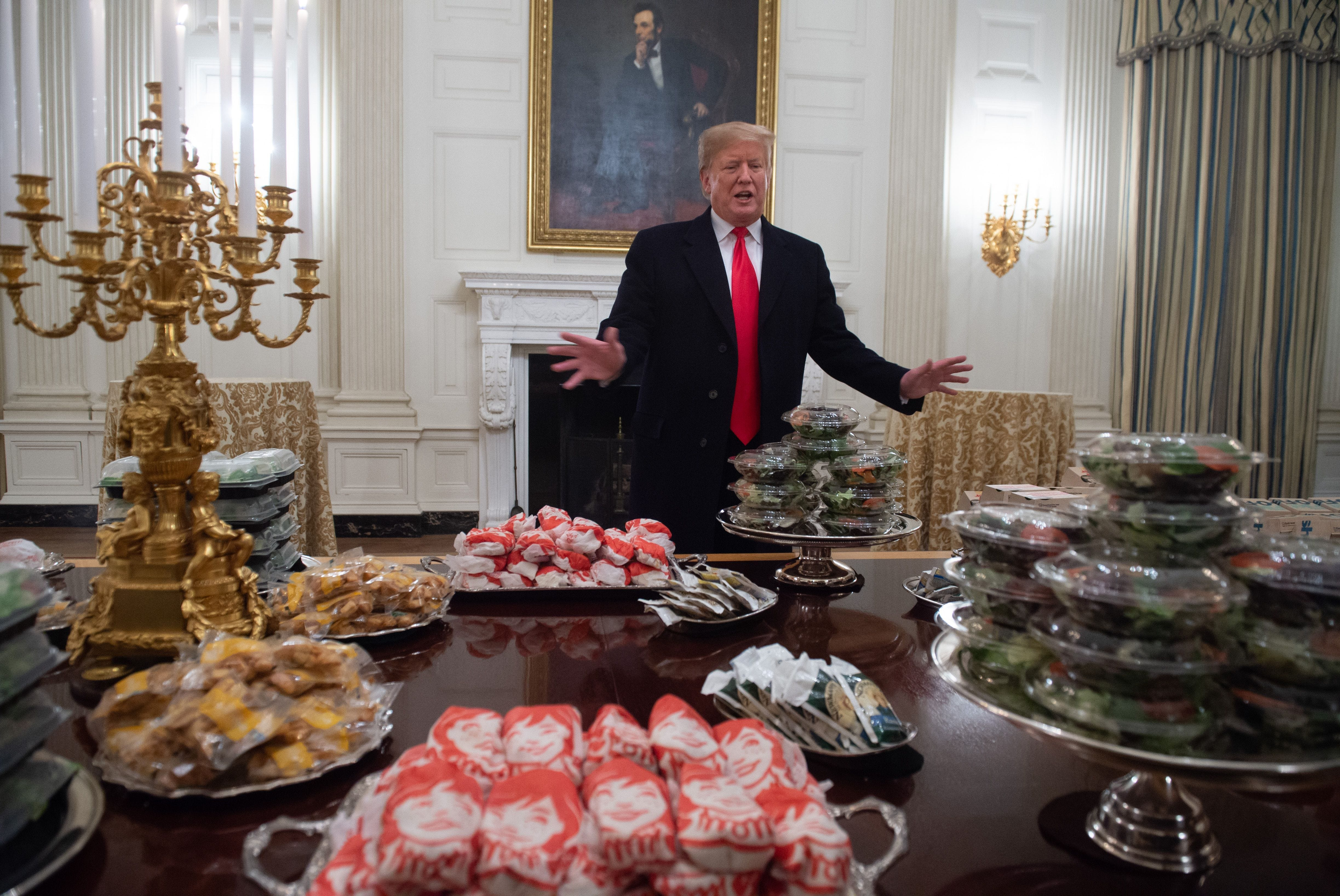 Burger King trolls Trump on including 'hamberders' in 'massive' fast food order