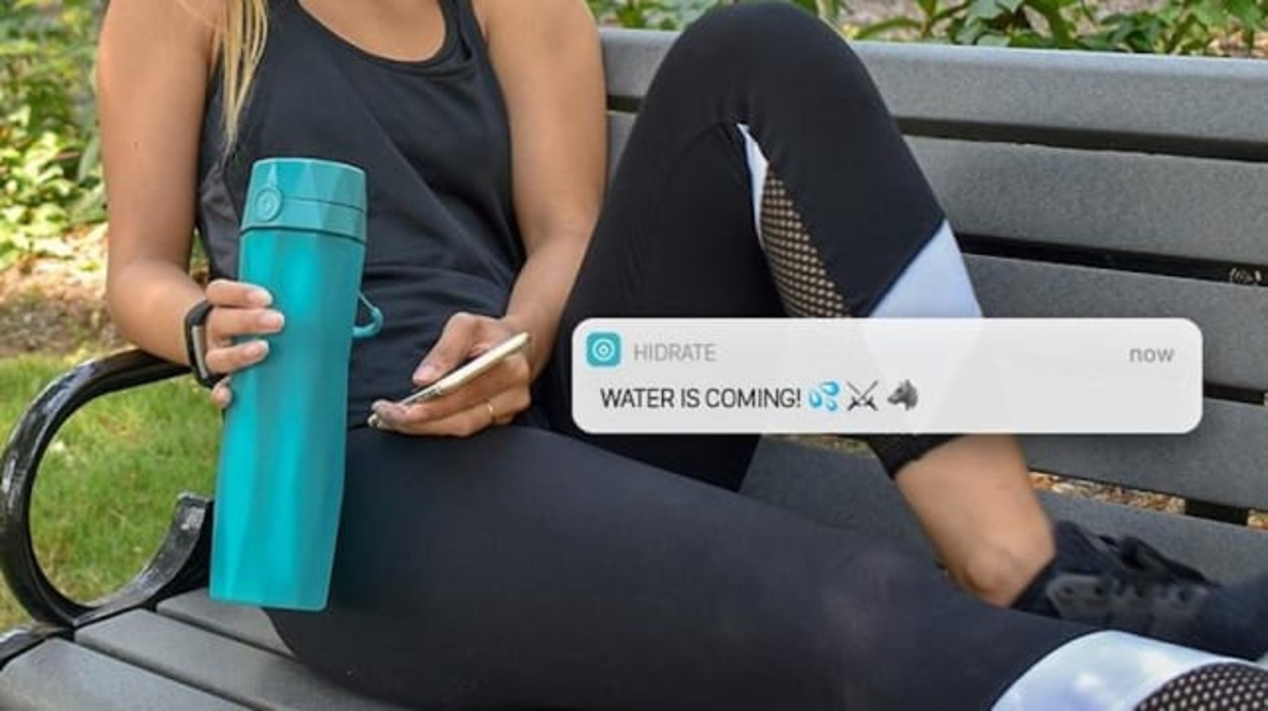 "If you&rsquo;re not very good at remembering to stay hydrated, the Hidrate smart water bottle could help you get on track. Its app and a glowing light on the bottle remind you to take a sip when you haven&rsquo;t in a while! (<a href=""https://www.amazon.com/dp/B06XRL8RS5/ref=as_li_ss_tl?th=1&amp;linkCode=ll1&amp;tag=usatgallery-20&amp;linkId=4ad8b0a2dc878cc984f6712fde772911&amp;language=en_US"">$59.99 on Amazon</a>)"