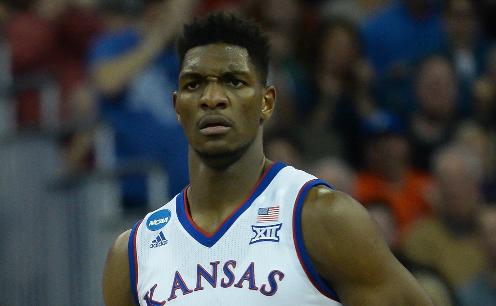 What is going on with suspended Kansas forward Silvio De Sousa and the NCAA?
