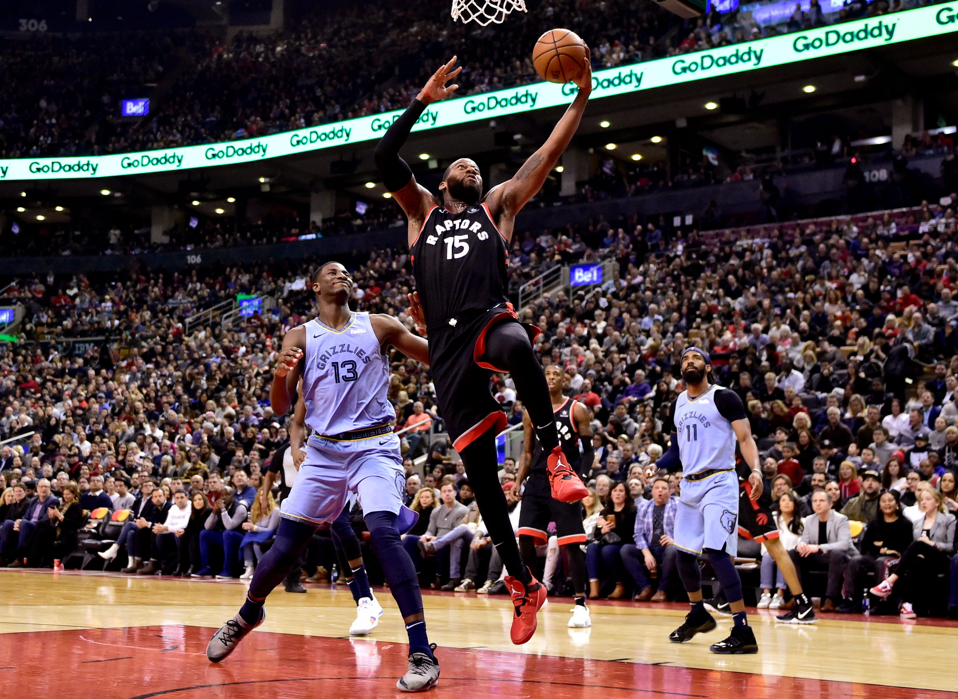 Green hits 7 3s in 3rd quarter, Raptors top Grizzlies 119-90