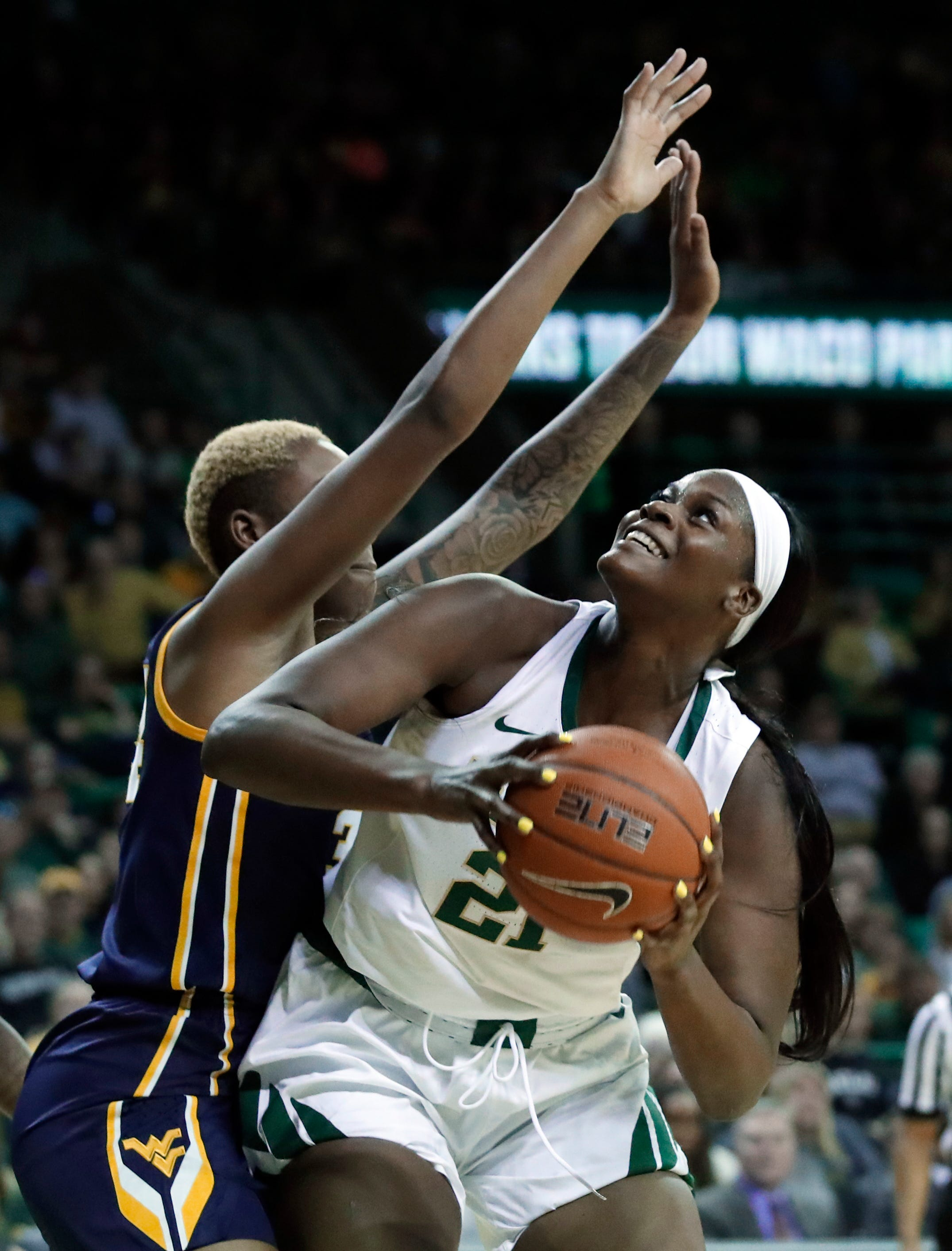 Brown leads as No. 2 Baylor women roll past W Virginia 79-47
