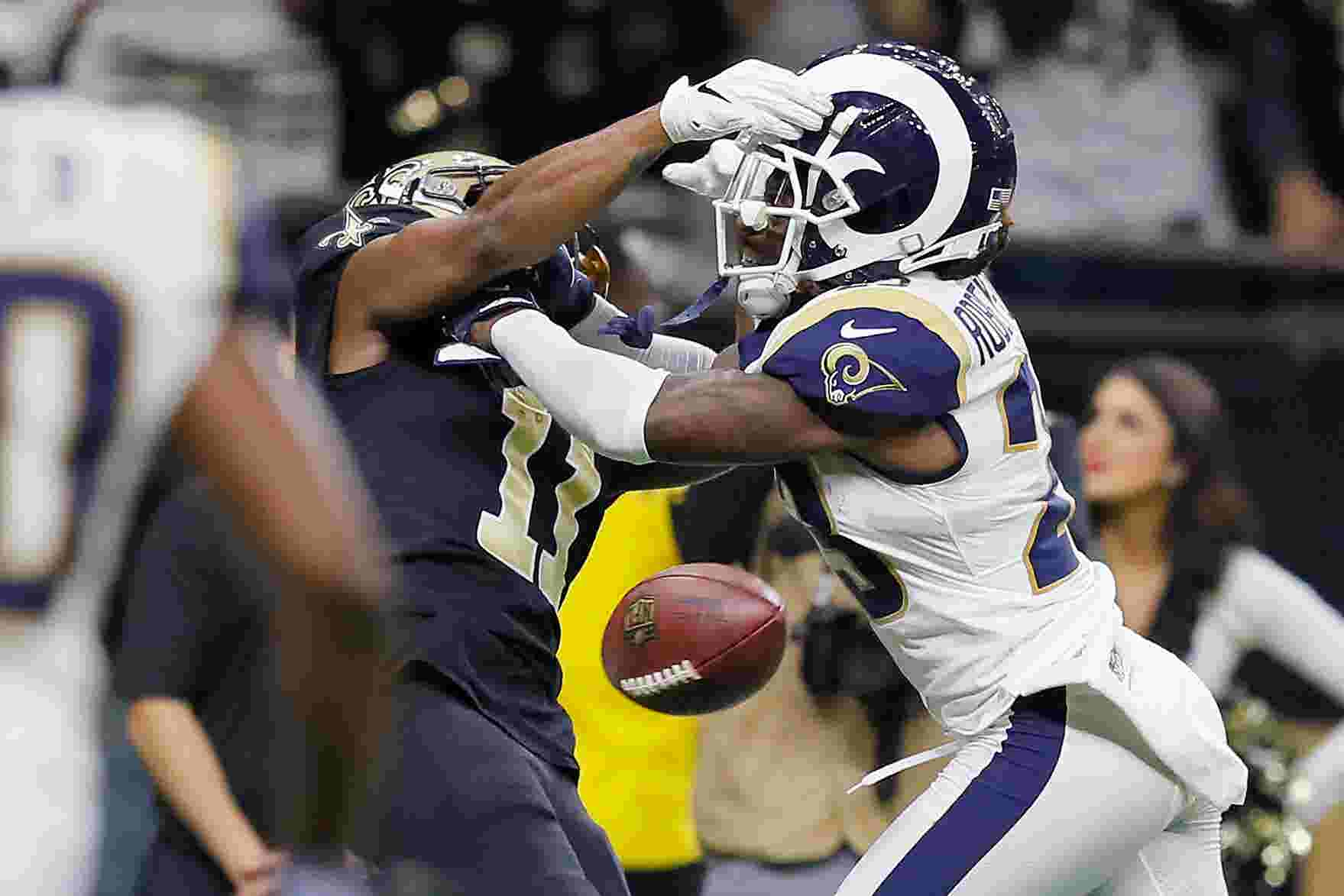 Los Angeles Rams overcome Superdome s deafening noise to reach Super Bowl  LIII f8113474e