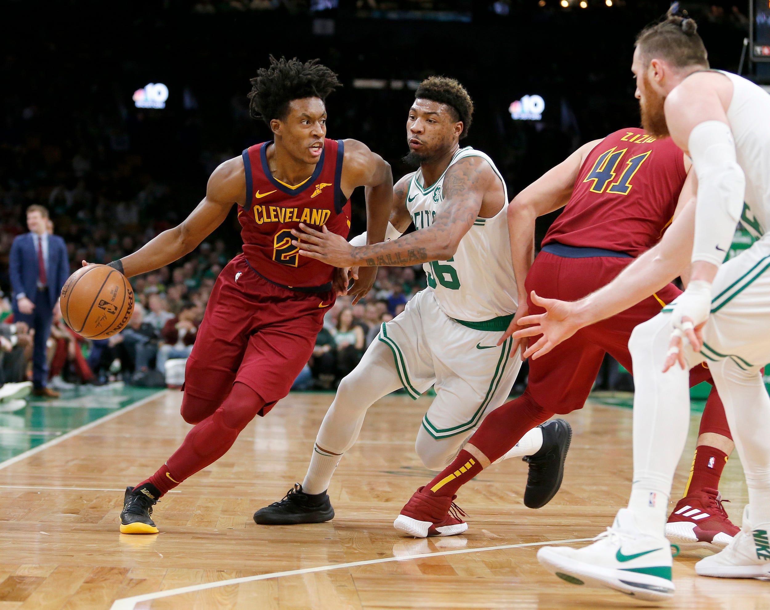 Rozier's perfect start, 26 points carry Celtics past Cavs