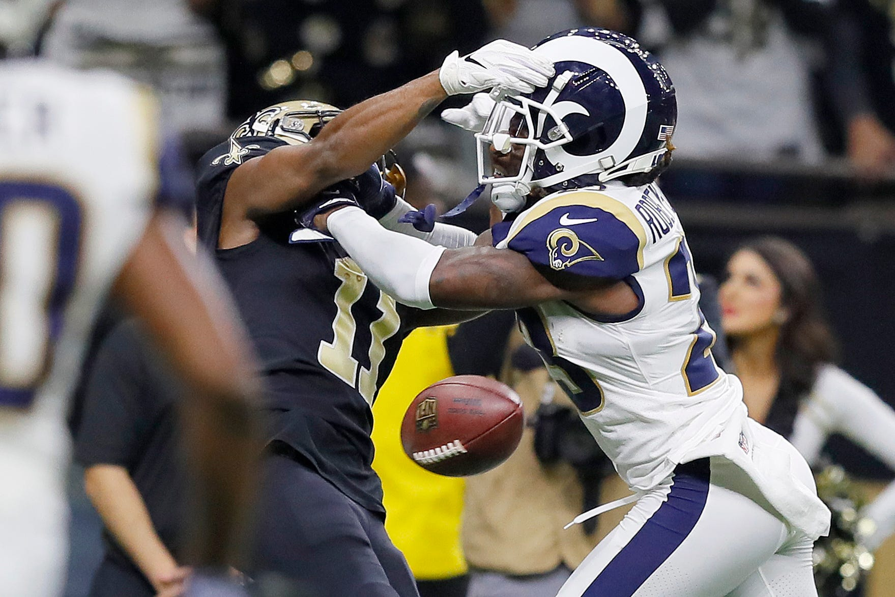 ... NFL fines Rams DB Nickell Robey-Coleman for hit on Saints receiver  Tommylee Lewis USA TODAY - 14 19 PM ET January 25 9c672ee0b