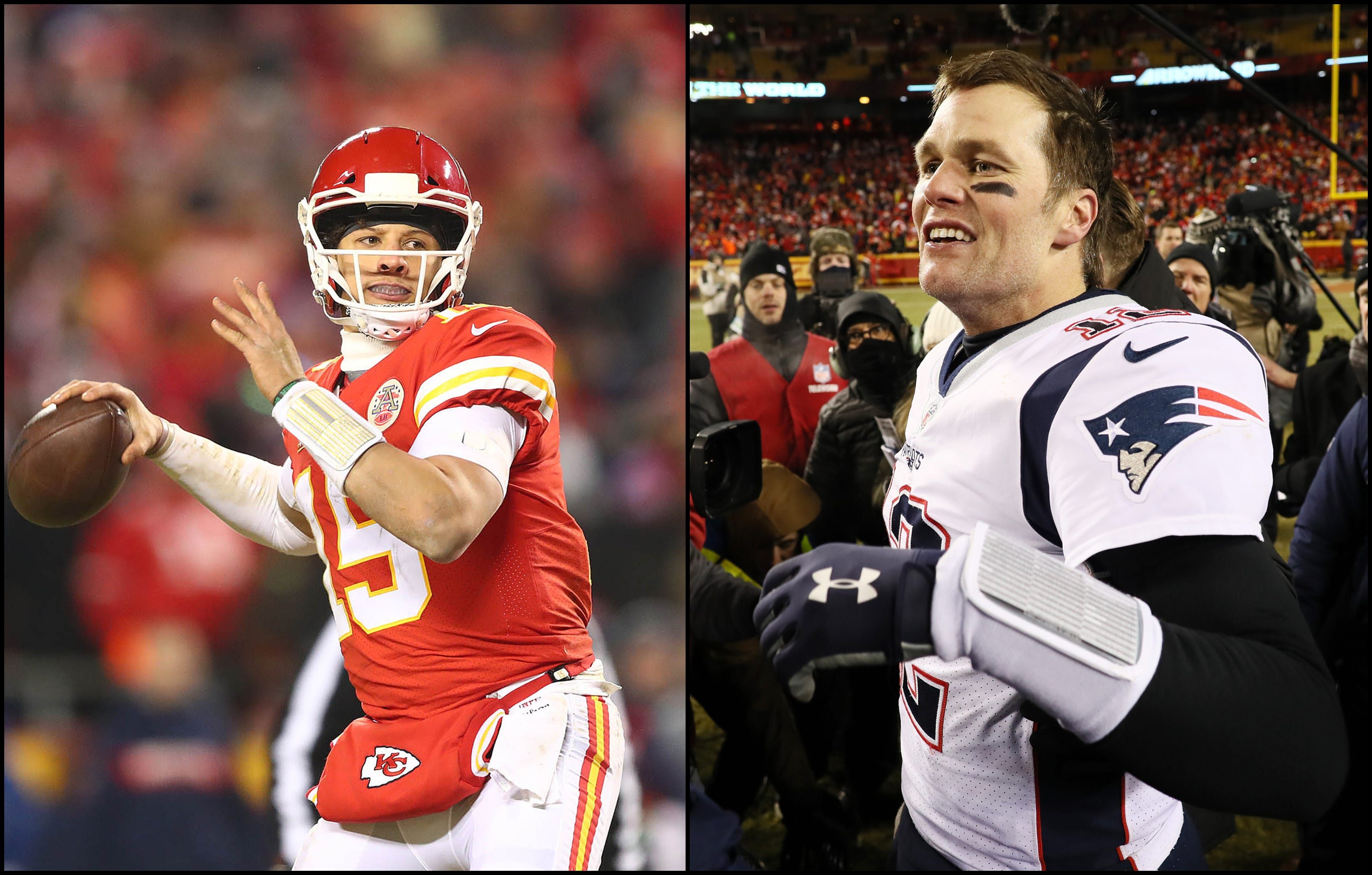 Patrick Mahomes shares what Tom Brady told him in the postgame visit