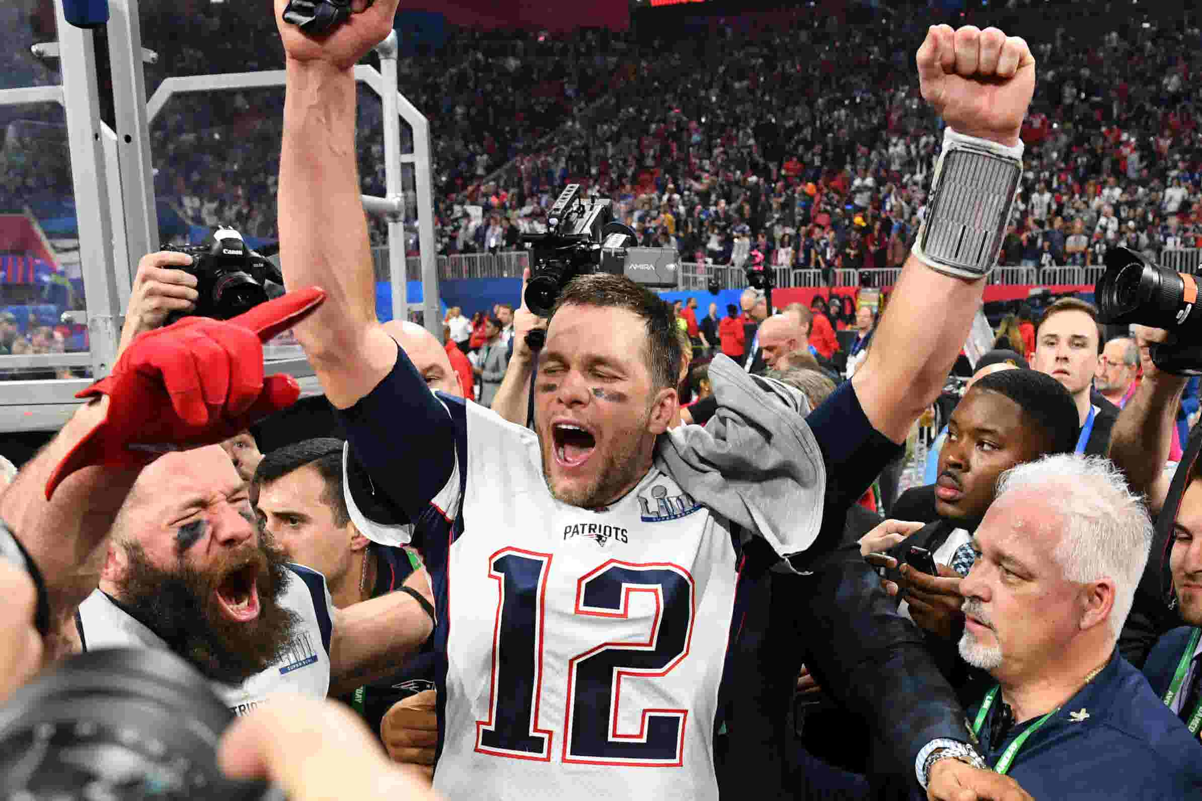 Image result for New England Patriots Super Bowl 2019 score