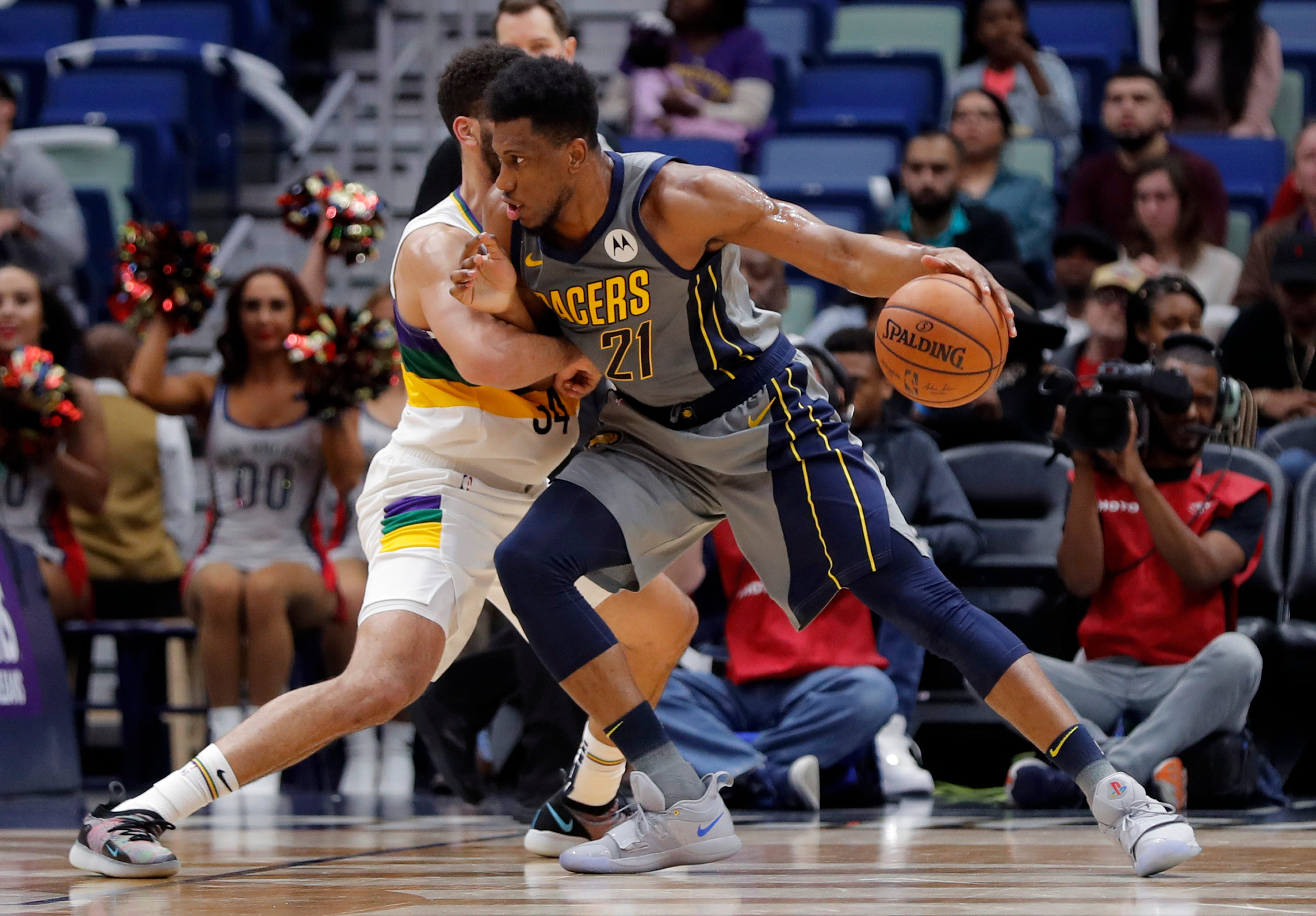 Collison lifts Pacers over Pelicans, 109-107