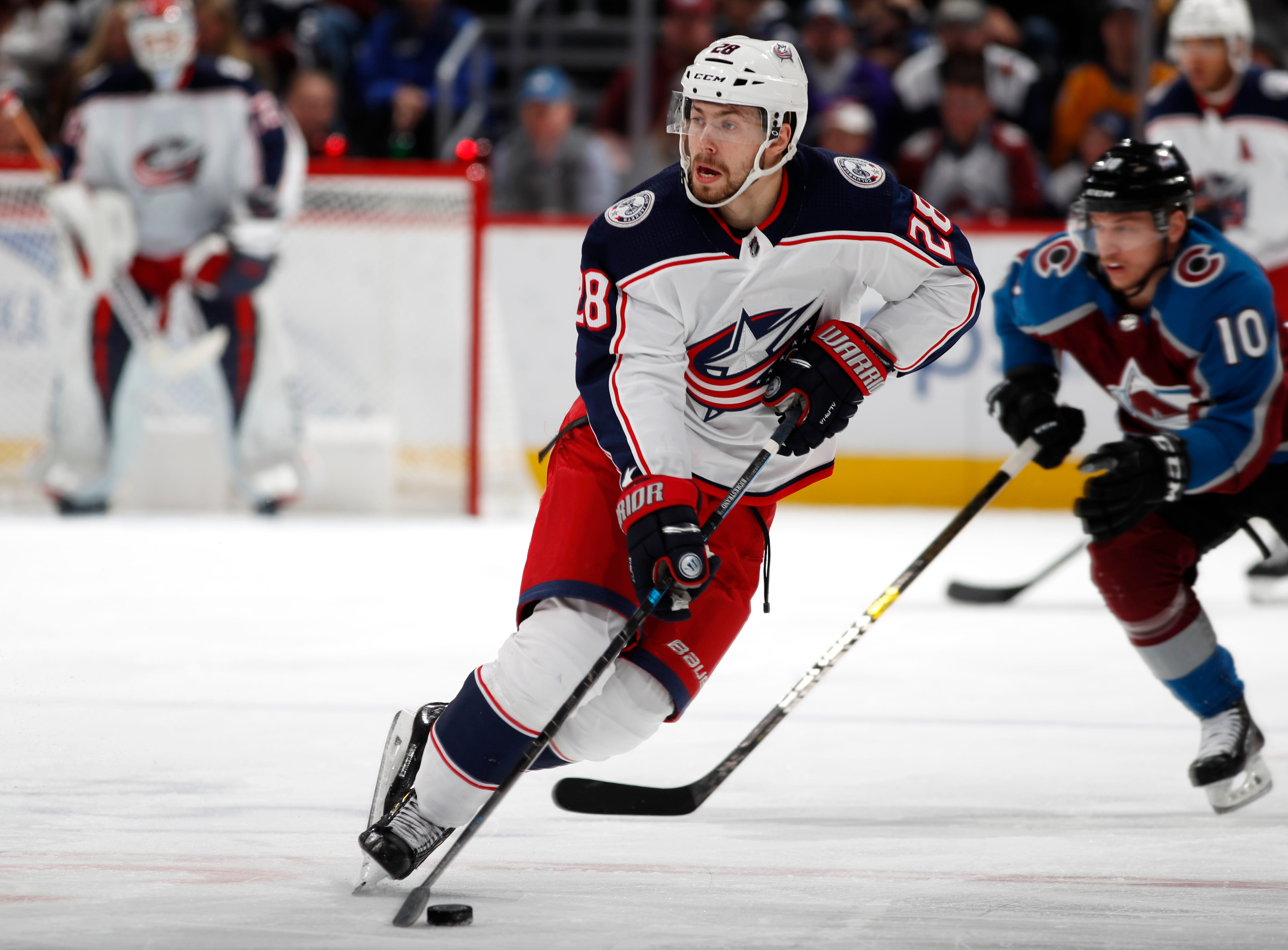 Blue Jackets snap 5-game skid with 6-3 win over Avalanche