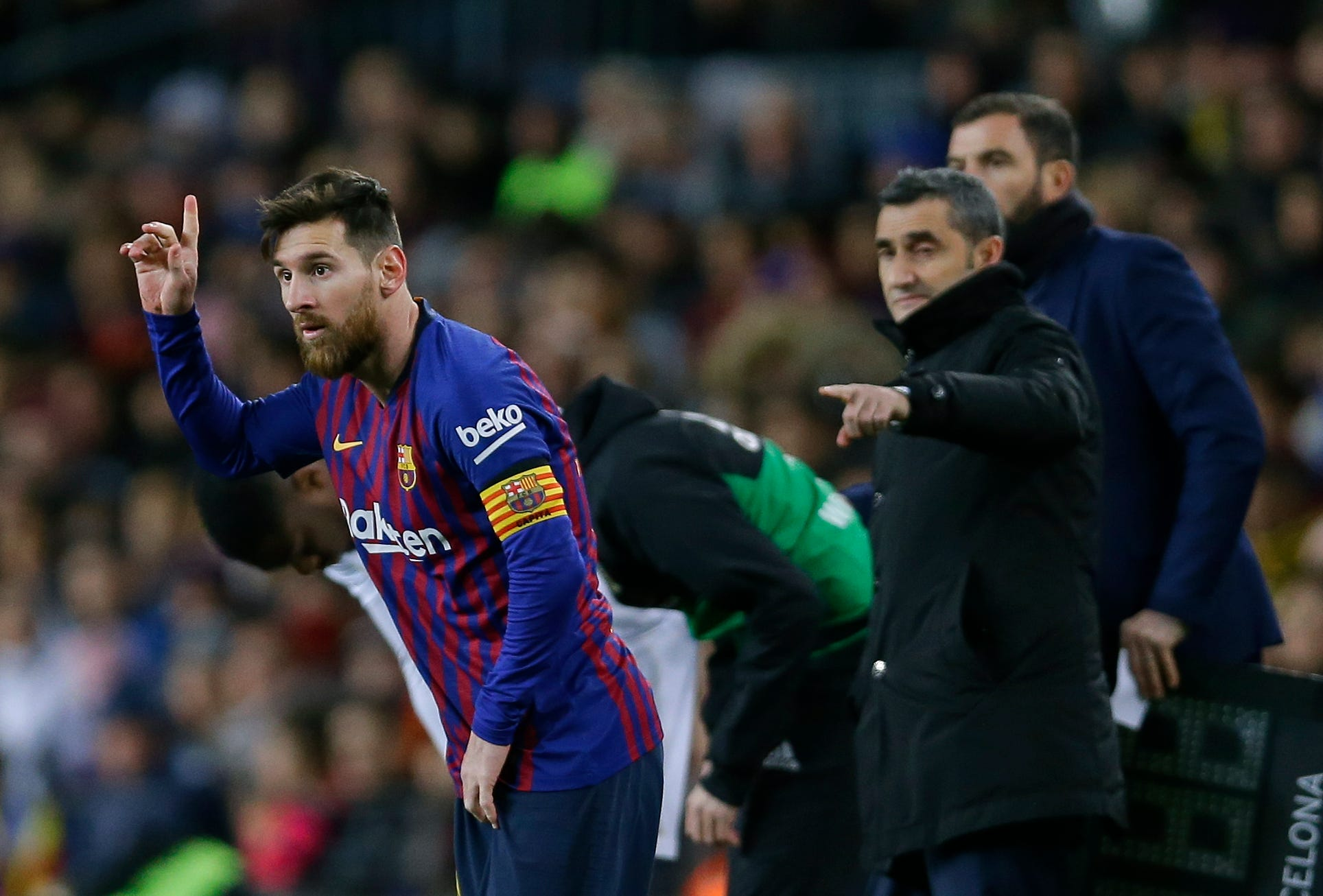 918bf80256562 Messi left out of starting lineup against Real Madrid