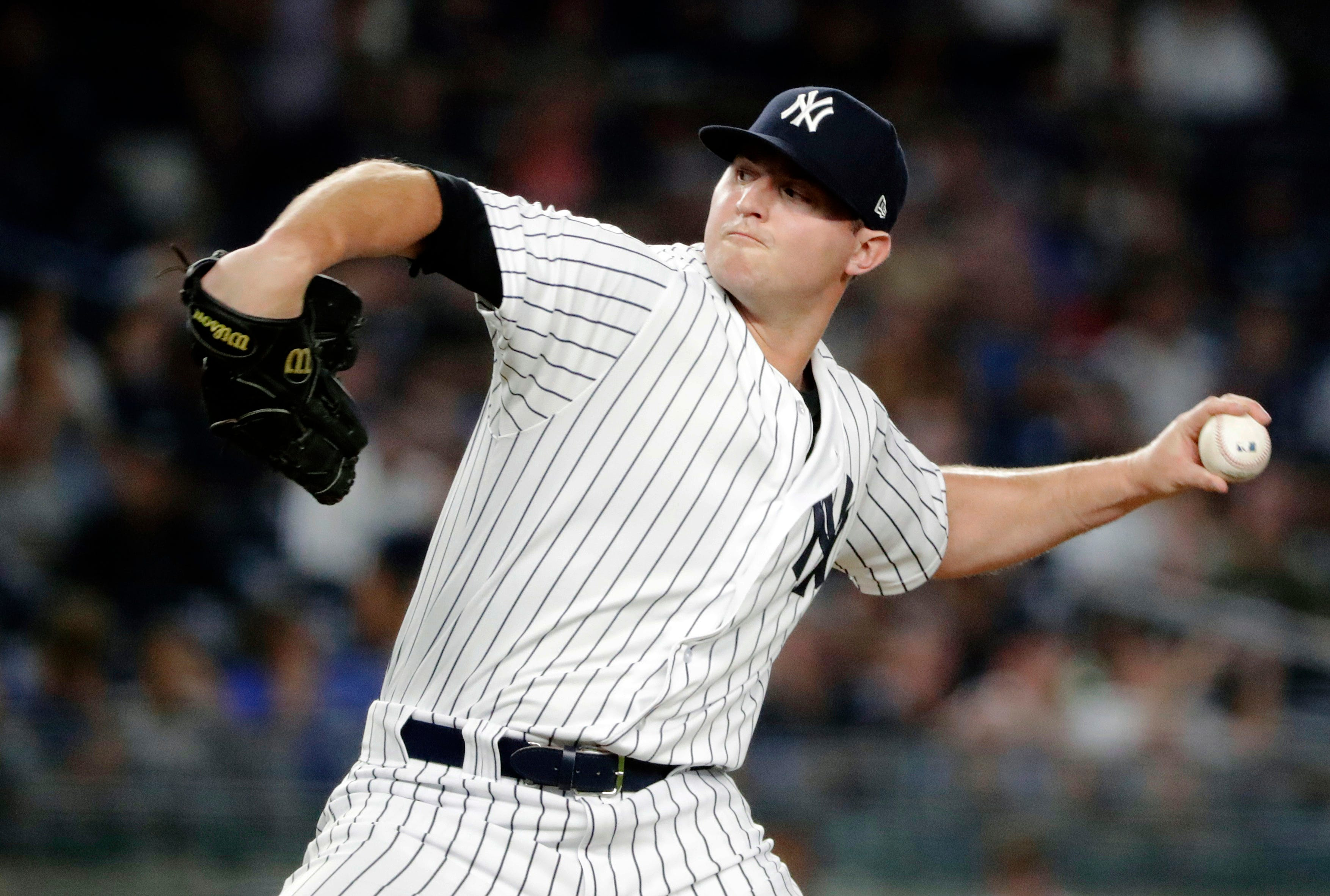 Name game: Britton says wife, Yanks led to spelling change