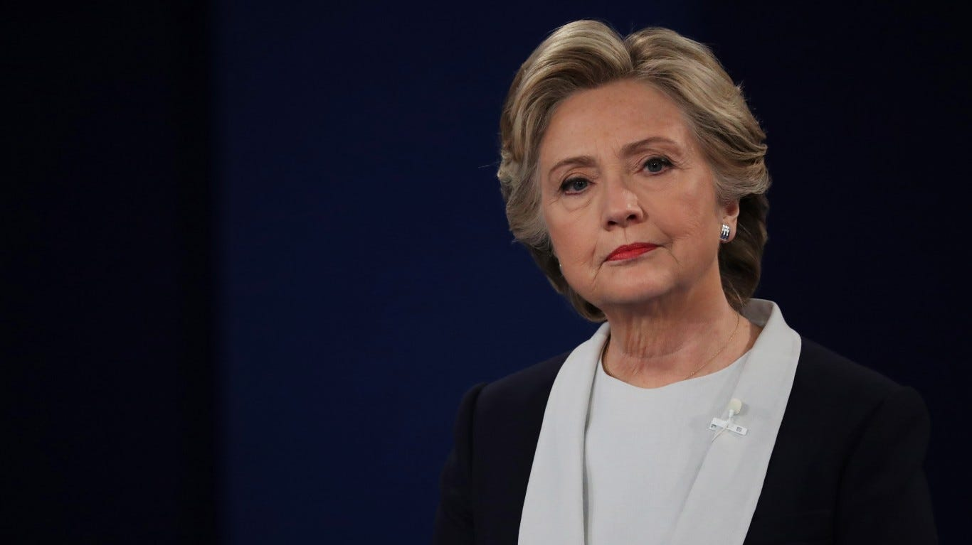 Hillary Clinton pitches a hypothetical: 'China, if you're listening, why don't you get Trump's tax returns'