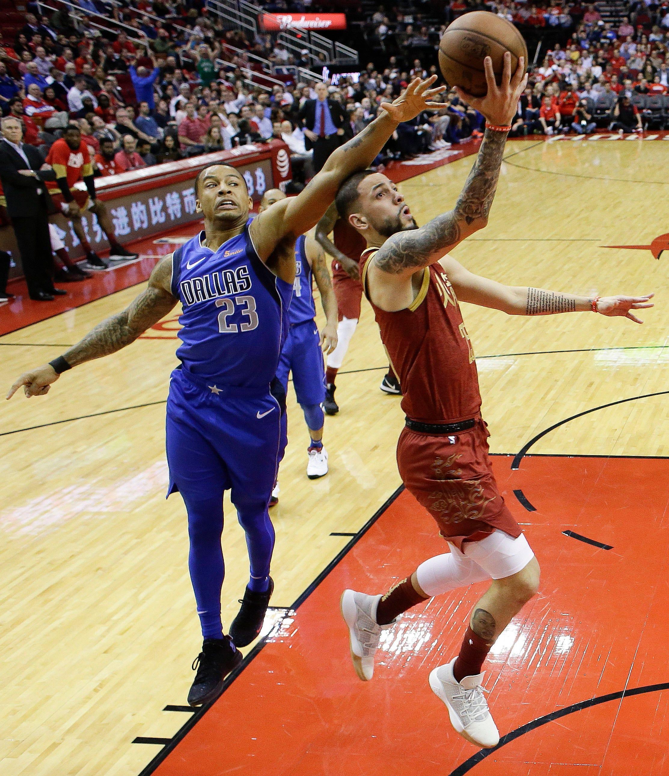 Harden runs 30-point streak to 30, Rockets beat Mavs 120-104