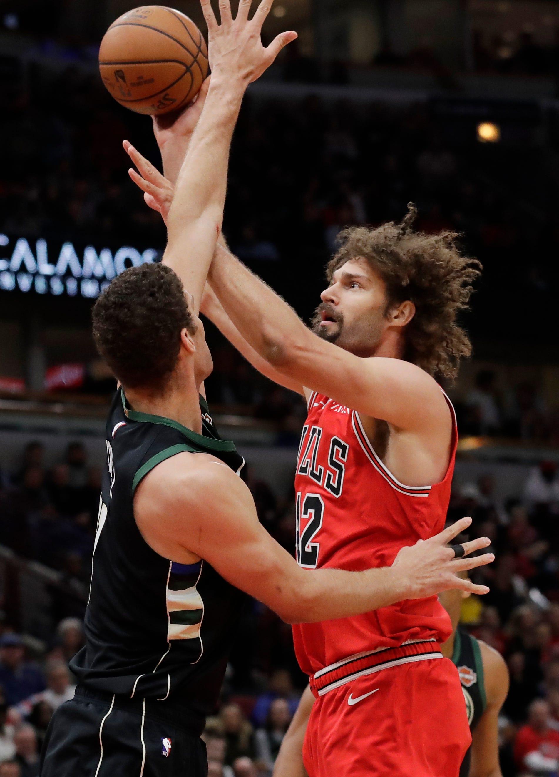 Antetokounmpo helps Bucks outlast Bulls 112-99