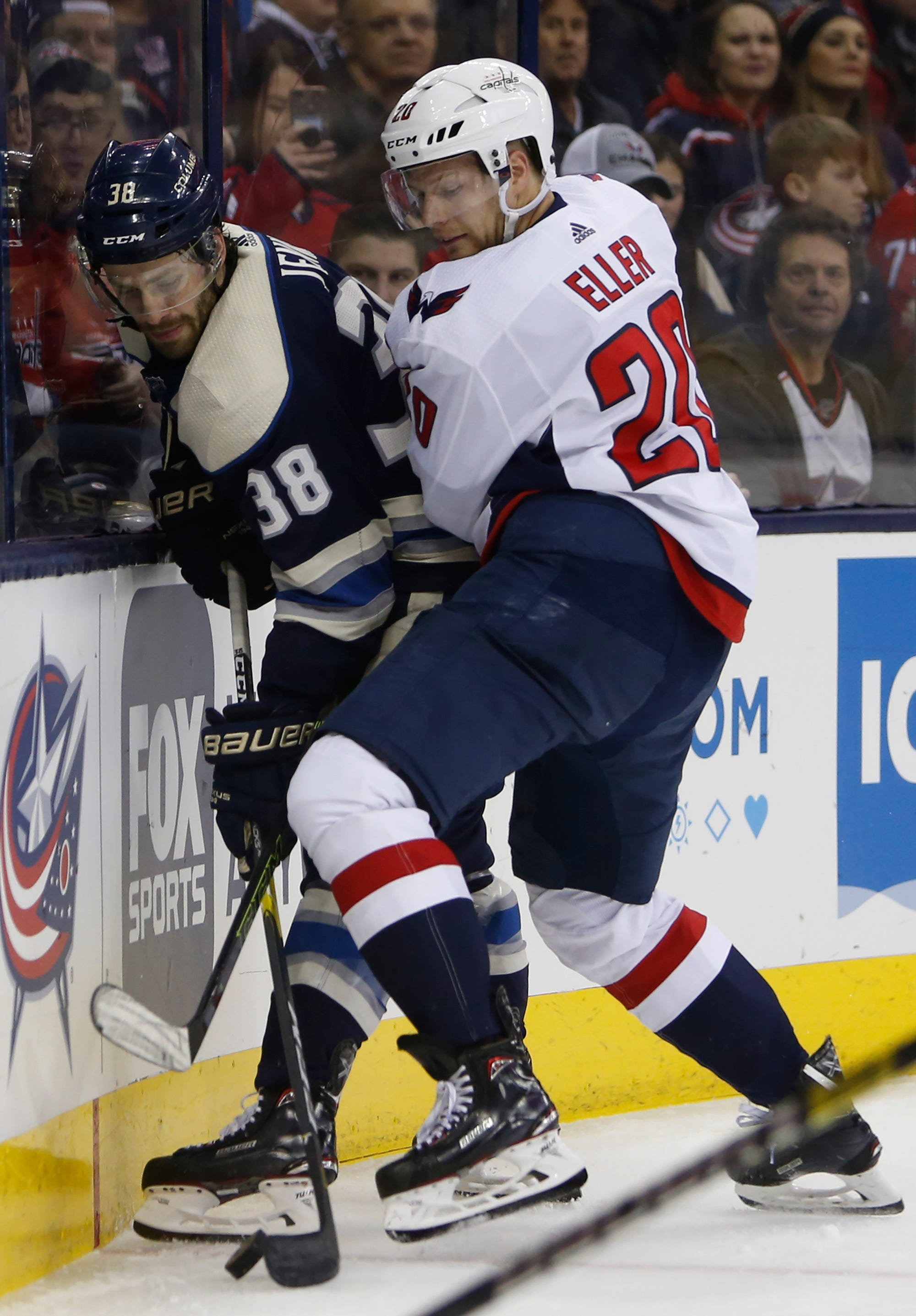 Bobrovsky, Blue Jackets shut out Capitals 3-0