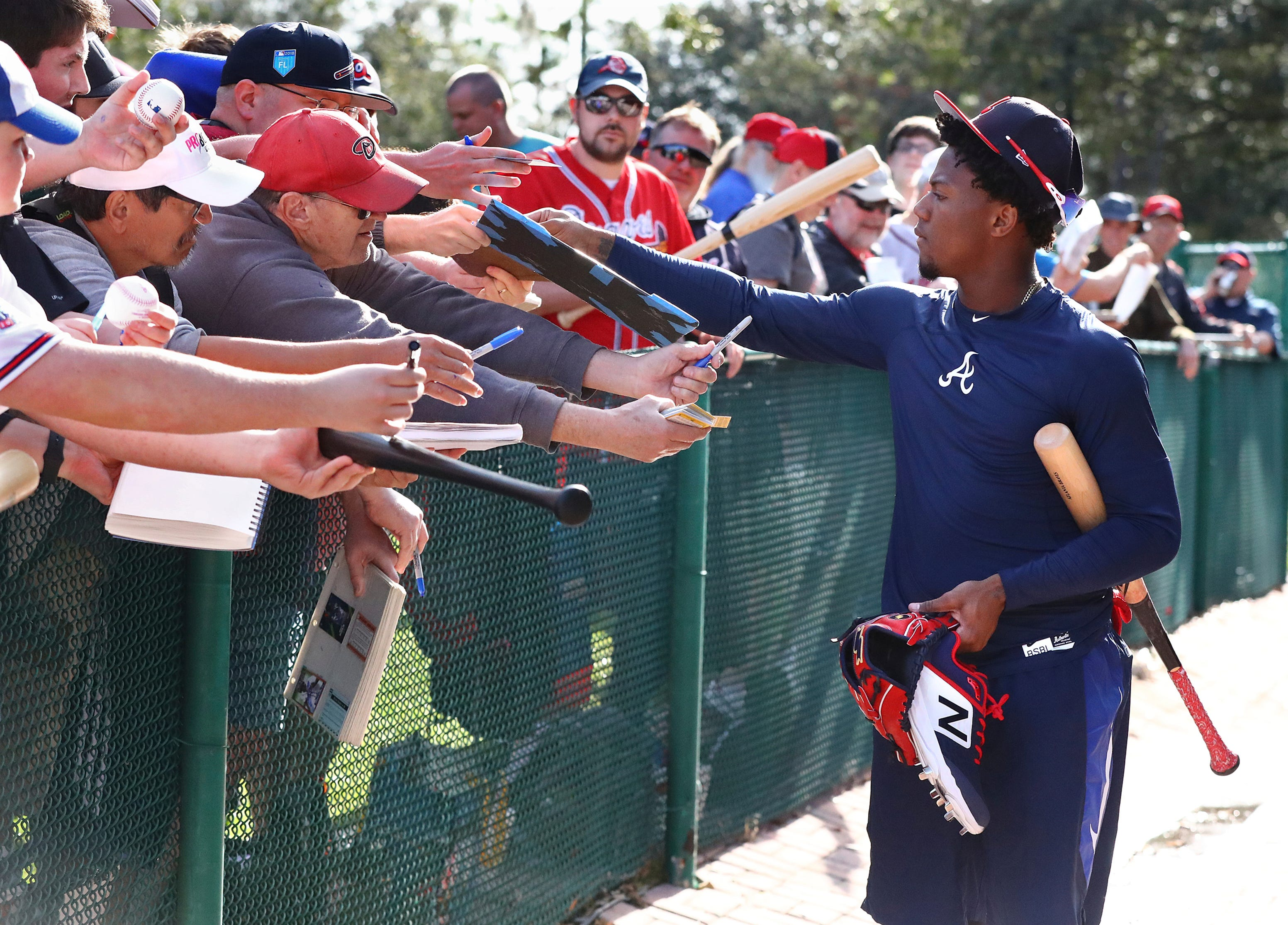 Braves expect Ronald Acuna Jr  to get even better as Atlanta battles  crowded division
