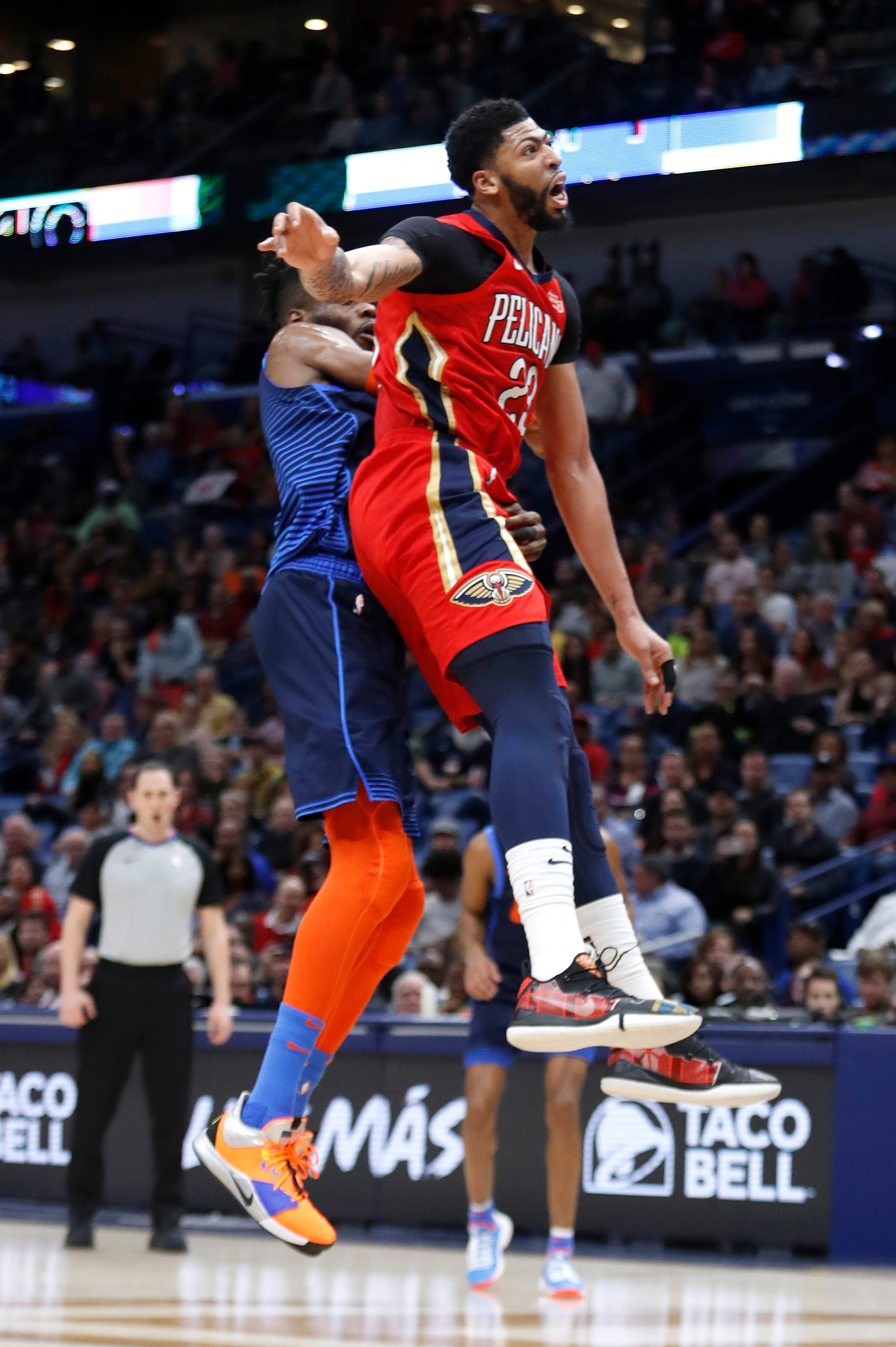 At All-Star Game, Anthony Davis finds himself in spotlight