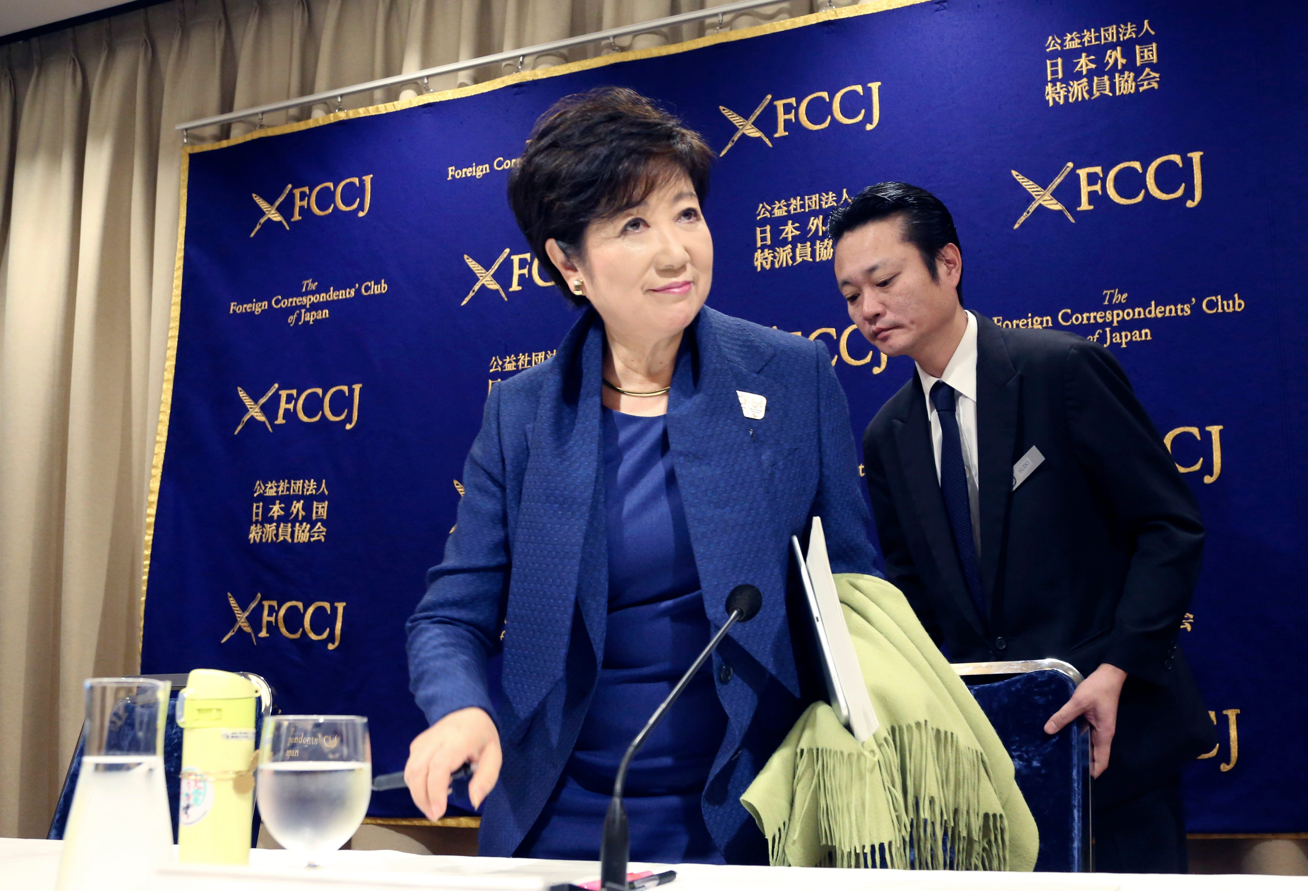 Tokyo governor won't speculate on Olympic bribery scandal