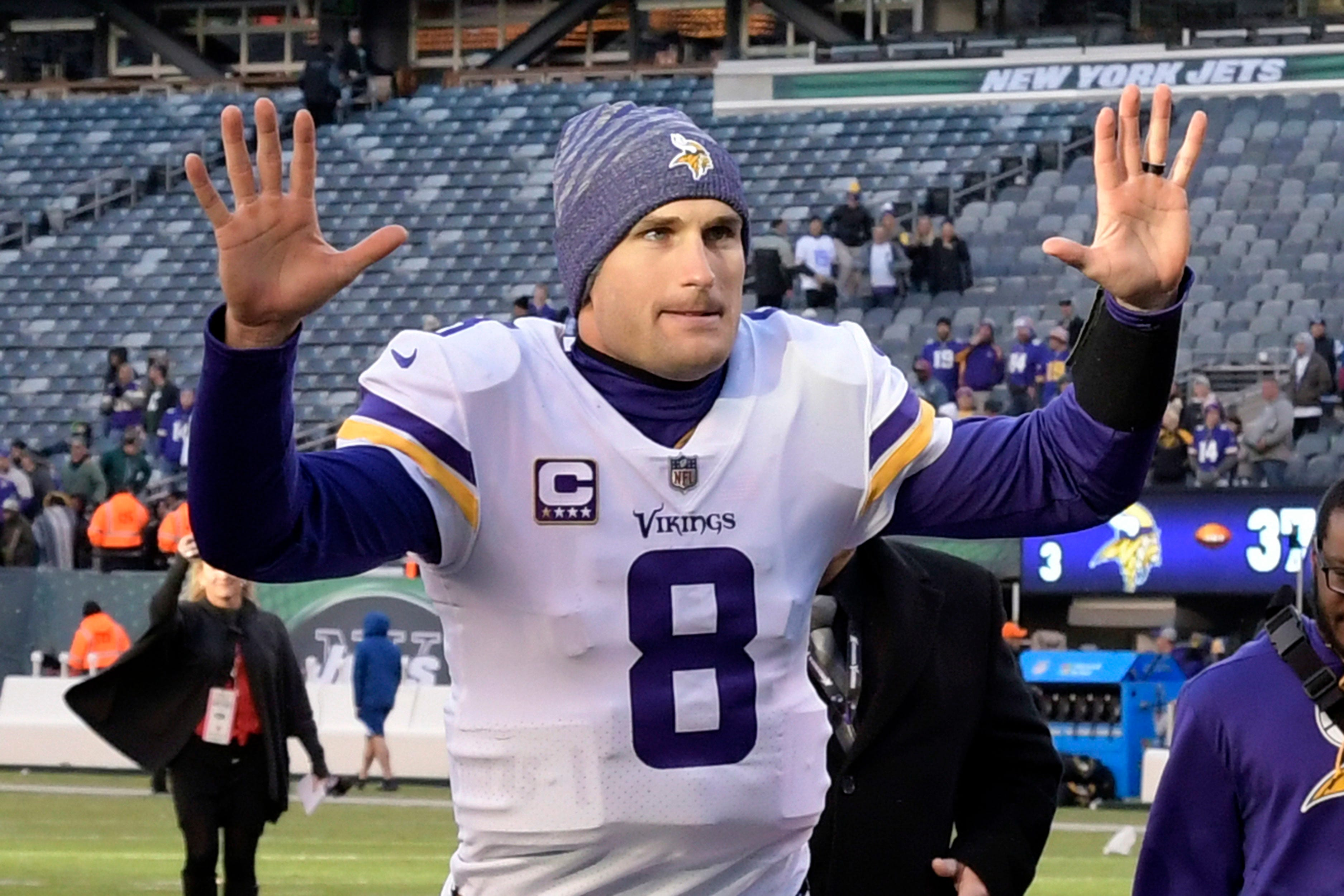 Kirk Cousins had the perfect reply to his own tweet that had angered Vikings fans