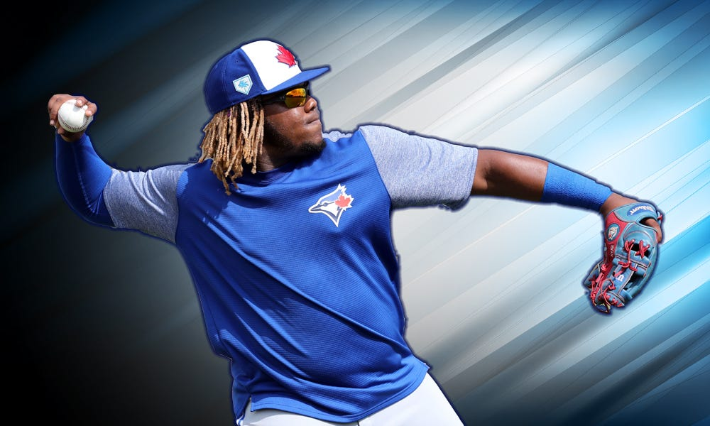 Vlad Guerrero Jr. isn't mad about being held back from MLB, even if everyone else is