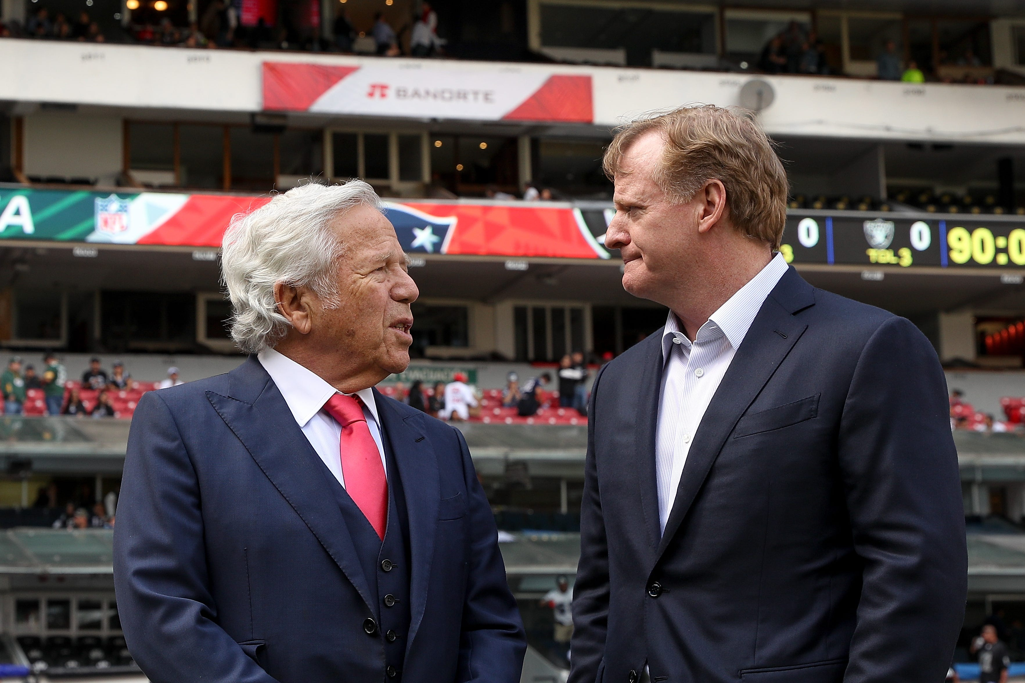 Opinion: Robert Kraft's case is yet another morality check for NFL owners, Roger Goodell