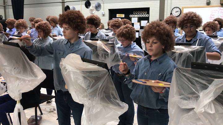 The Bob Ross art class of our dreams