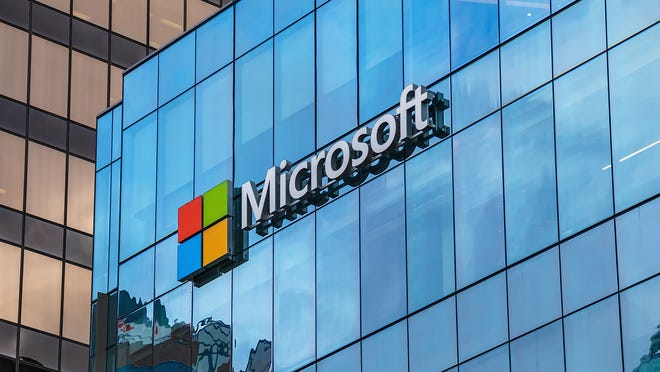 """Microsoft plans to build a """"five-building technology center"""" south of Interstate 10 in Goodyear, Arizona."""
