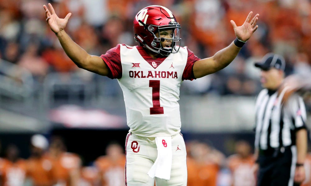 1c7a697c QB Mock Draft: Where will Kyler Murray land?
