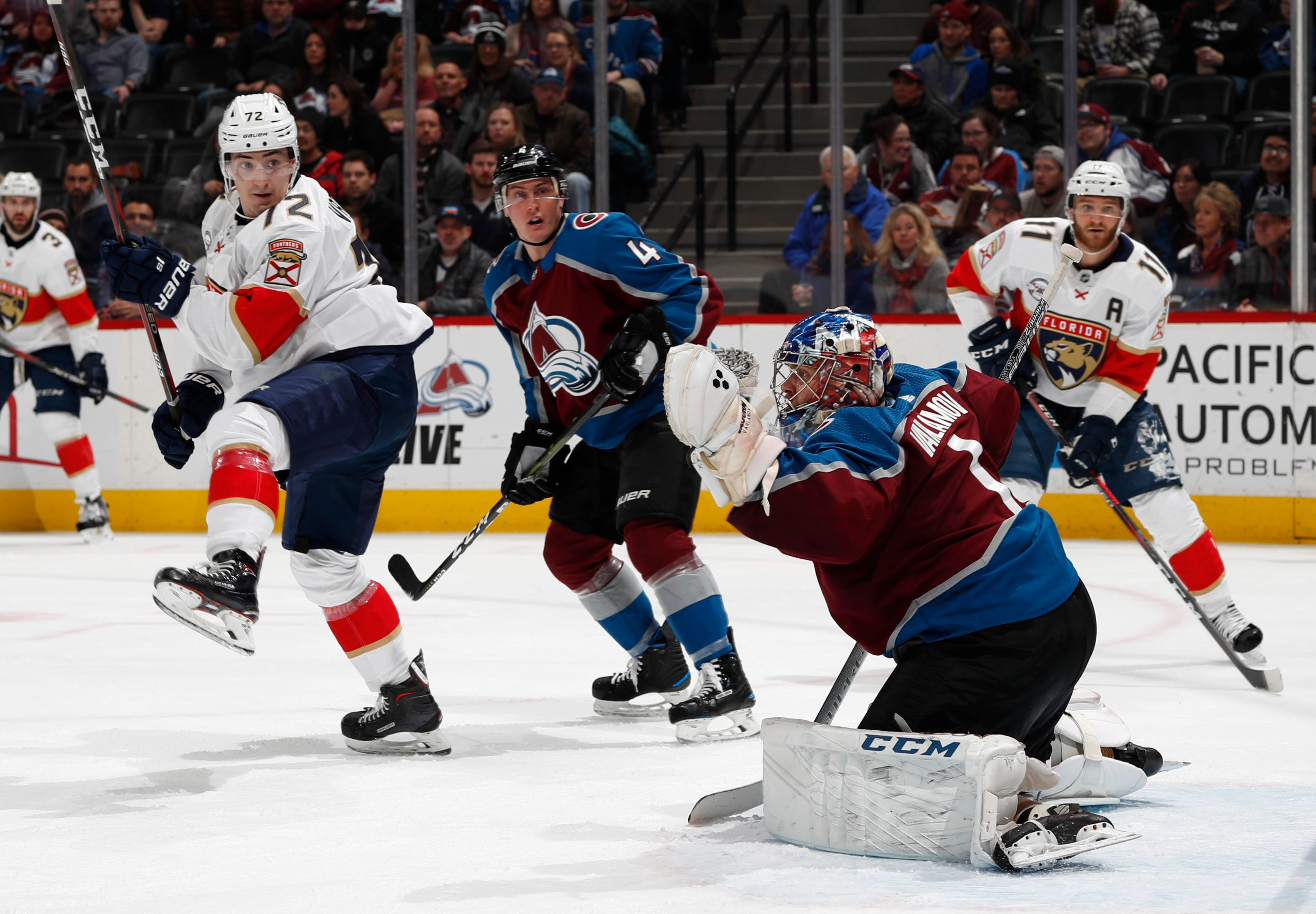Ekblad's quick OT goal gives Panthers 4-3 win over Avalanche