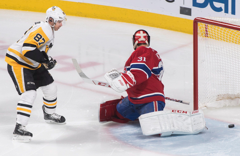 Guentzel, Crosby power Penguins past Canadiens 5-1