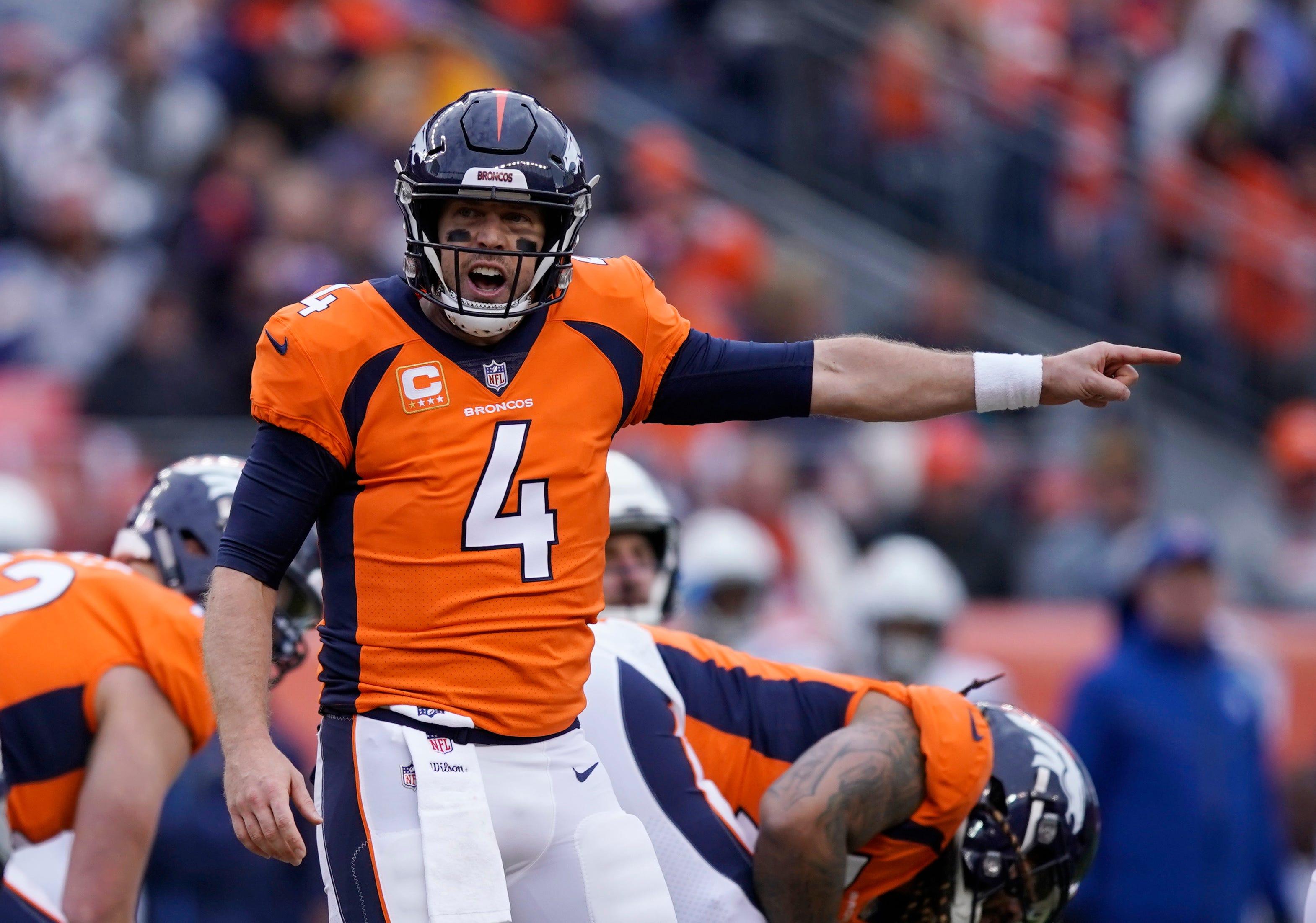 AP source: Broncos trading Keenum to Redskins