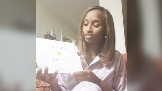 Principal in PJs reads bedtime stories to kids on Facebook Live. 'This is just more love'
